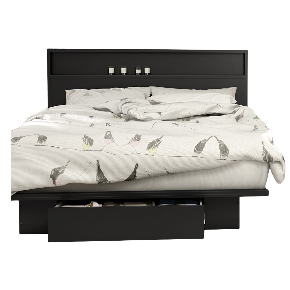 South Shore Full/ Queen Storage Platform Bed & Reviews ...
