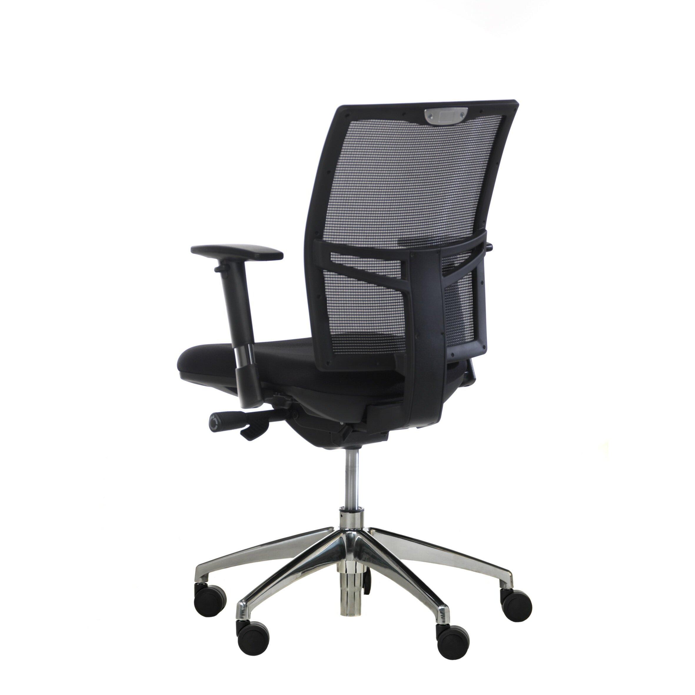 Synergie strategie mid back ergonomic mesh task chair with arms allmodern - Ergo kids task chair ...
