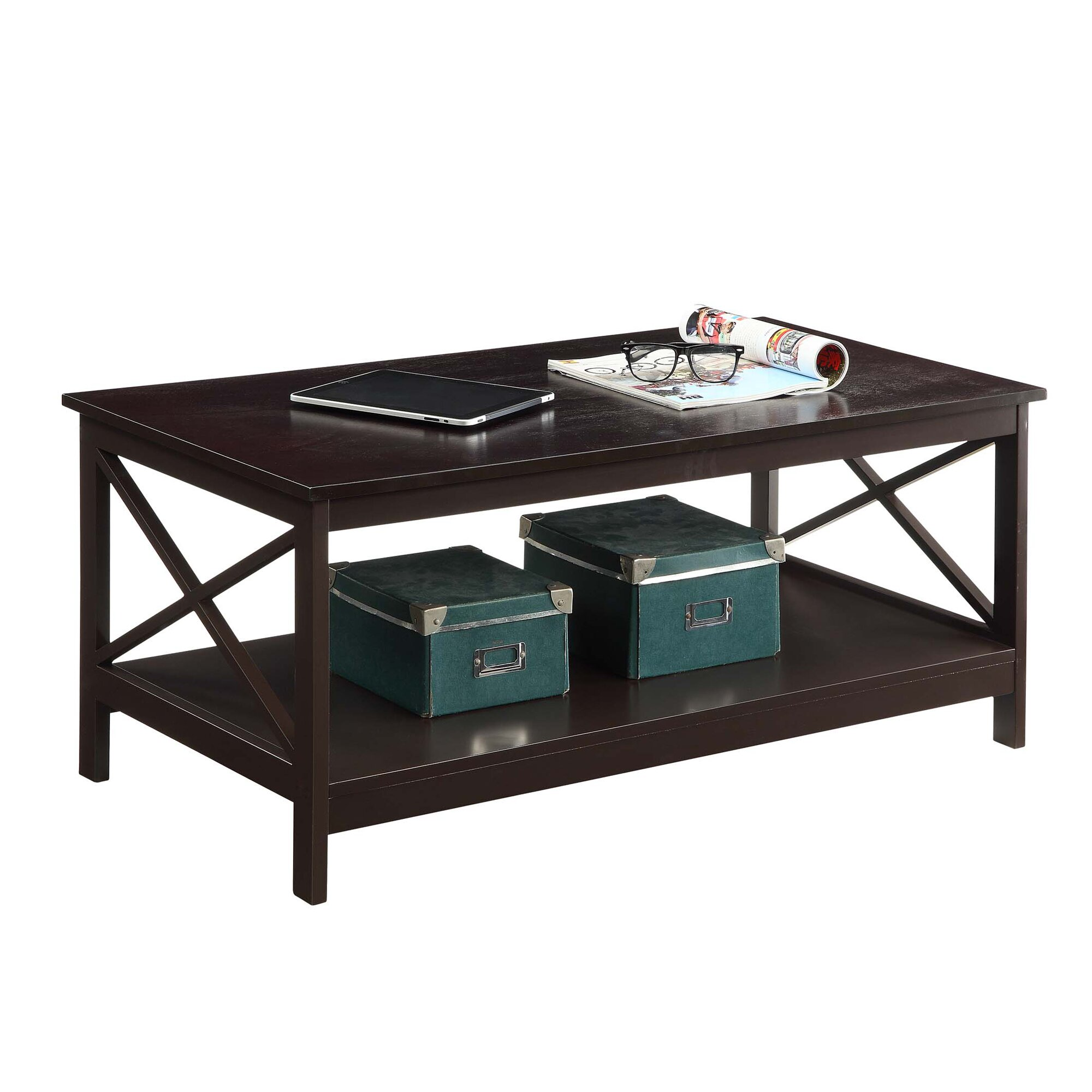 Convenience Concepts Oxford Coffee Table Amp Reviews Wayfair