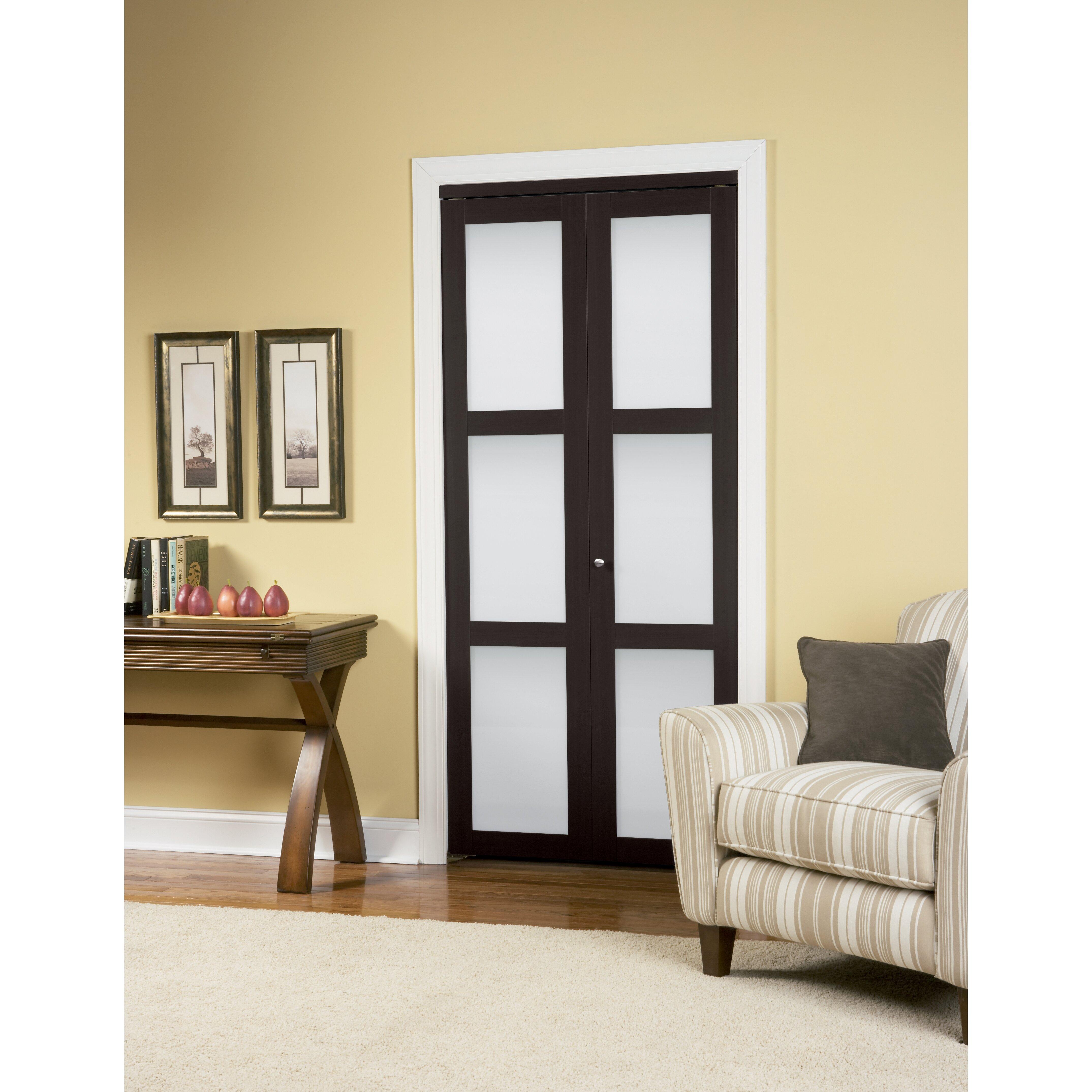 Mirror Bifold Doors 23 stylish closet door ideas that add style to your bedroom. find