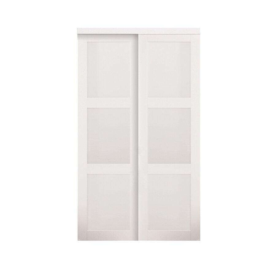 erias home designs baldarassario mdf 2 panel painted sliding interior - Erias Home Designs