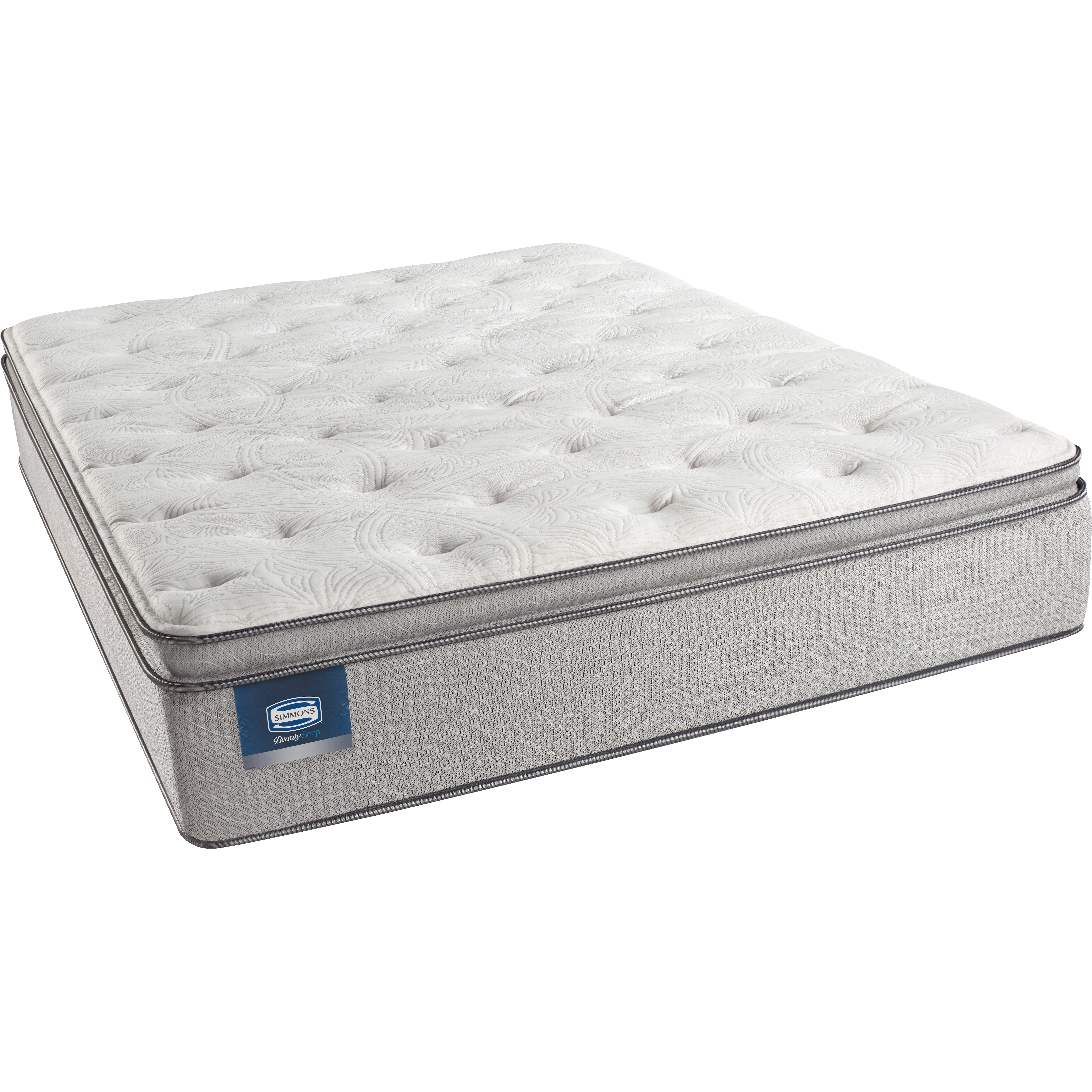Pillow Top Mattress: Simmons Beautyrest BeautySleep Starfall Plush Pillow Top