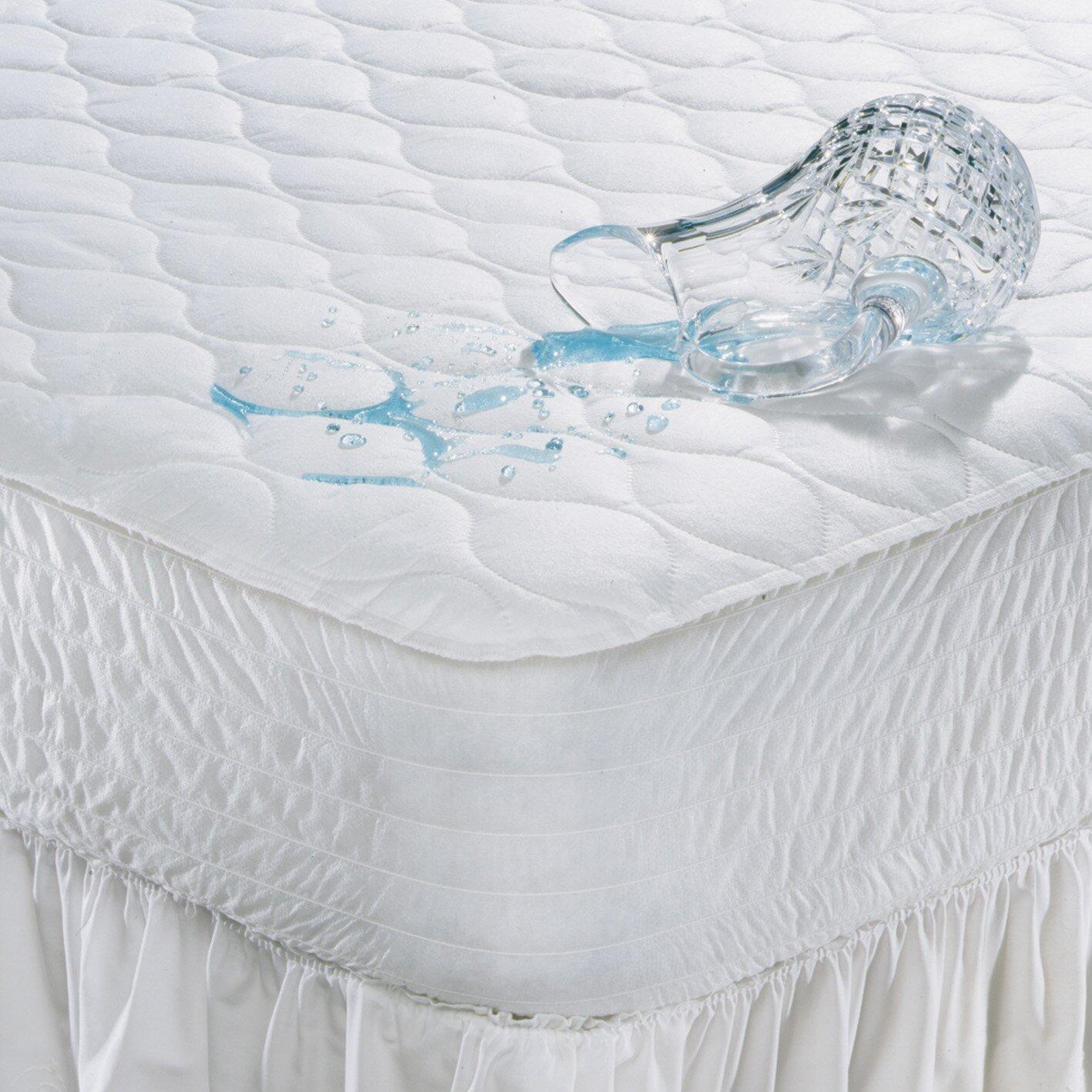 Simmons Beautyrest Polyester Waterproof Mattress Pad & Reviews .