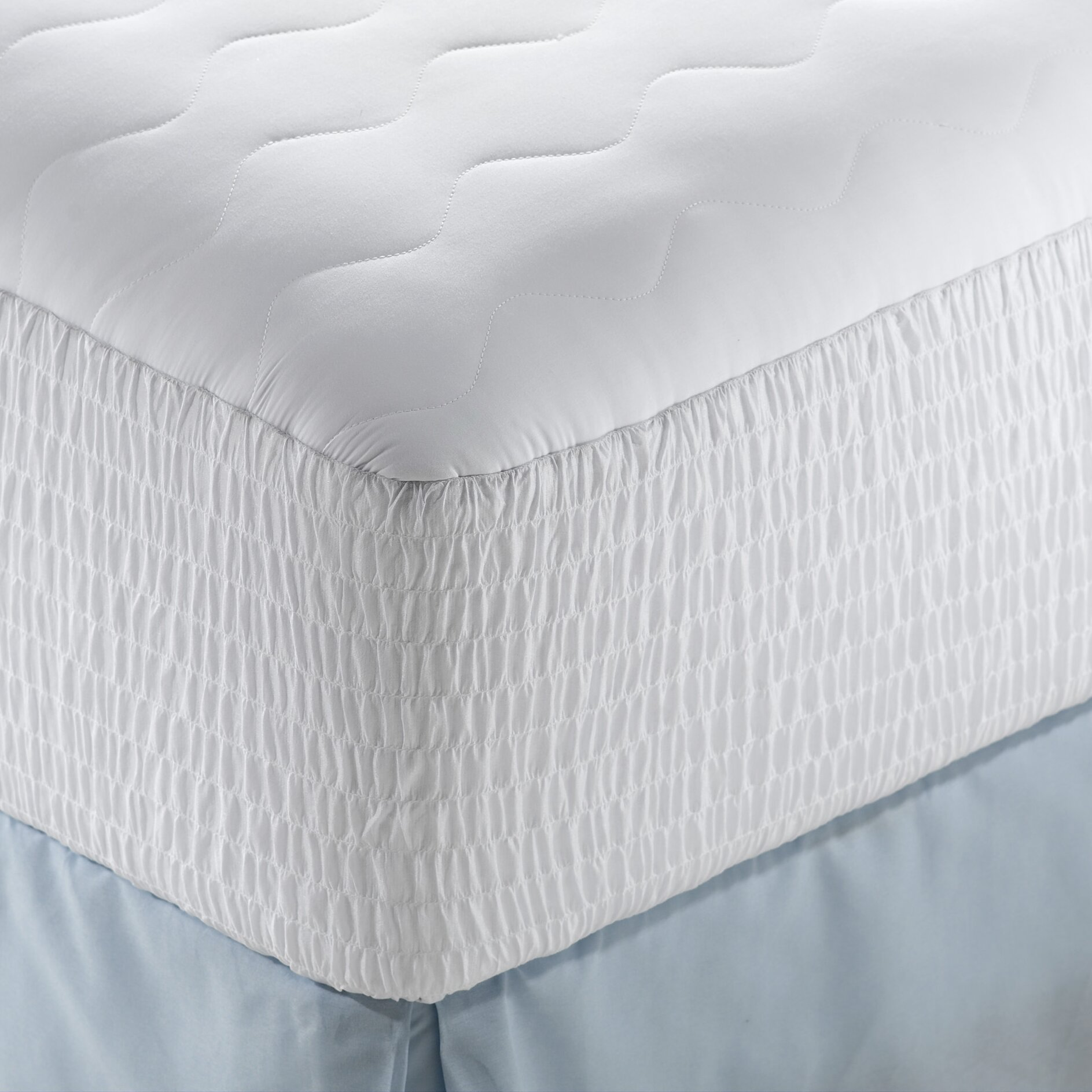 Simmons Beautyrest Microfiber Highloft Top Mattress Pad