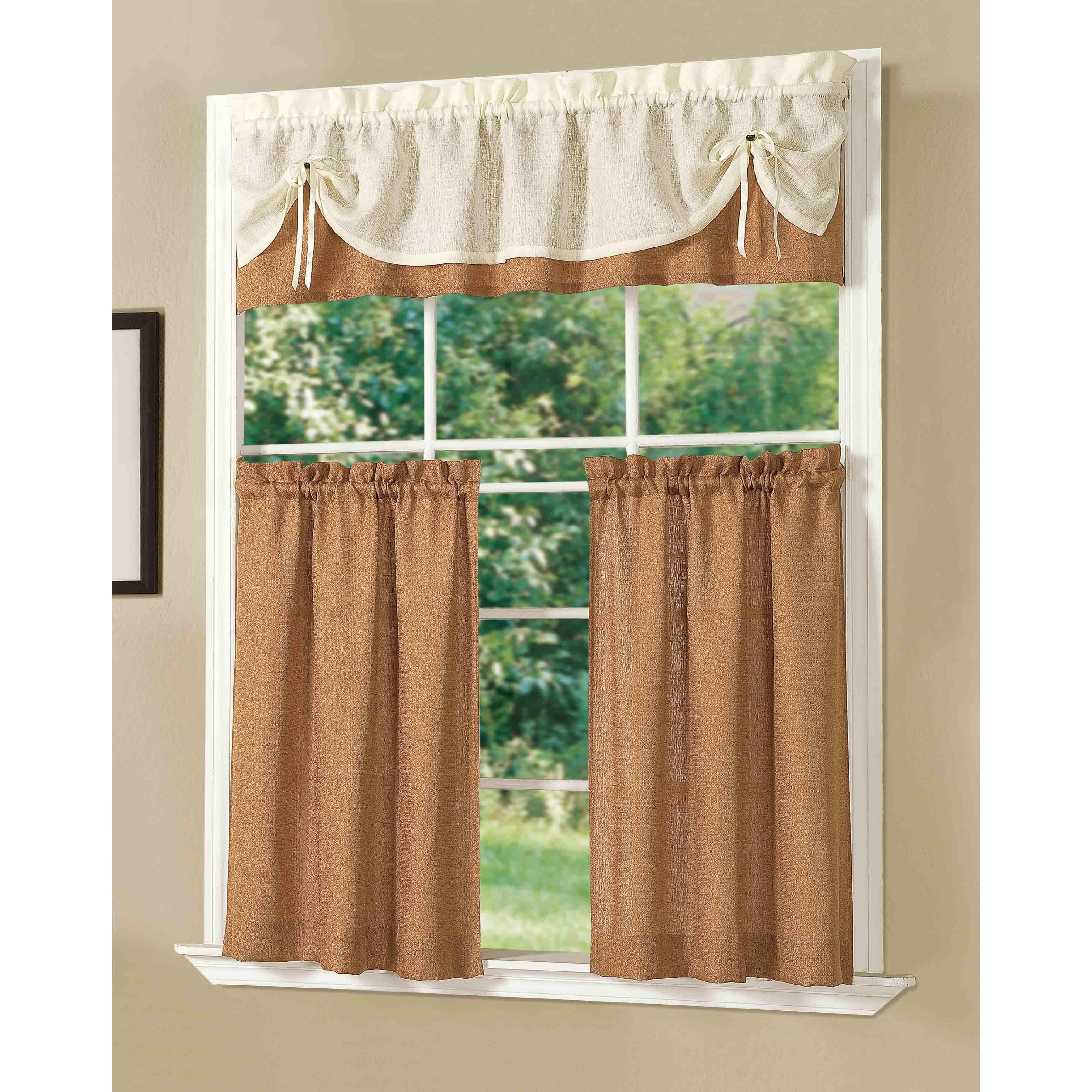 Dainty Home Kitchen Sunrise Curtain Set & Reviews
