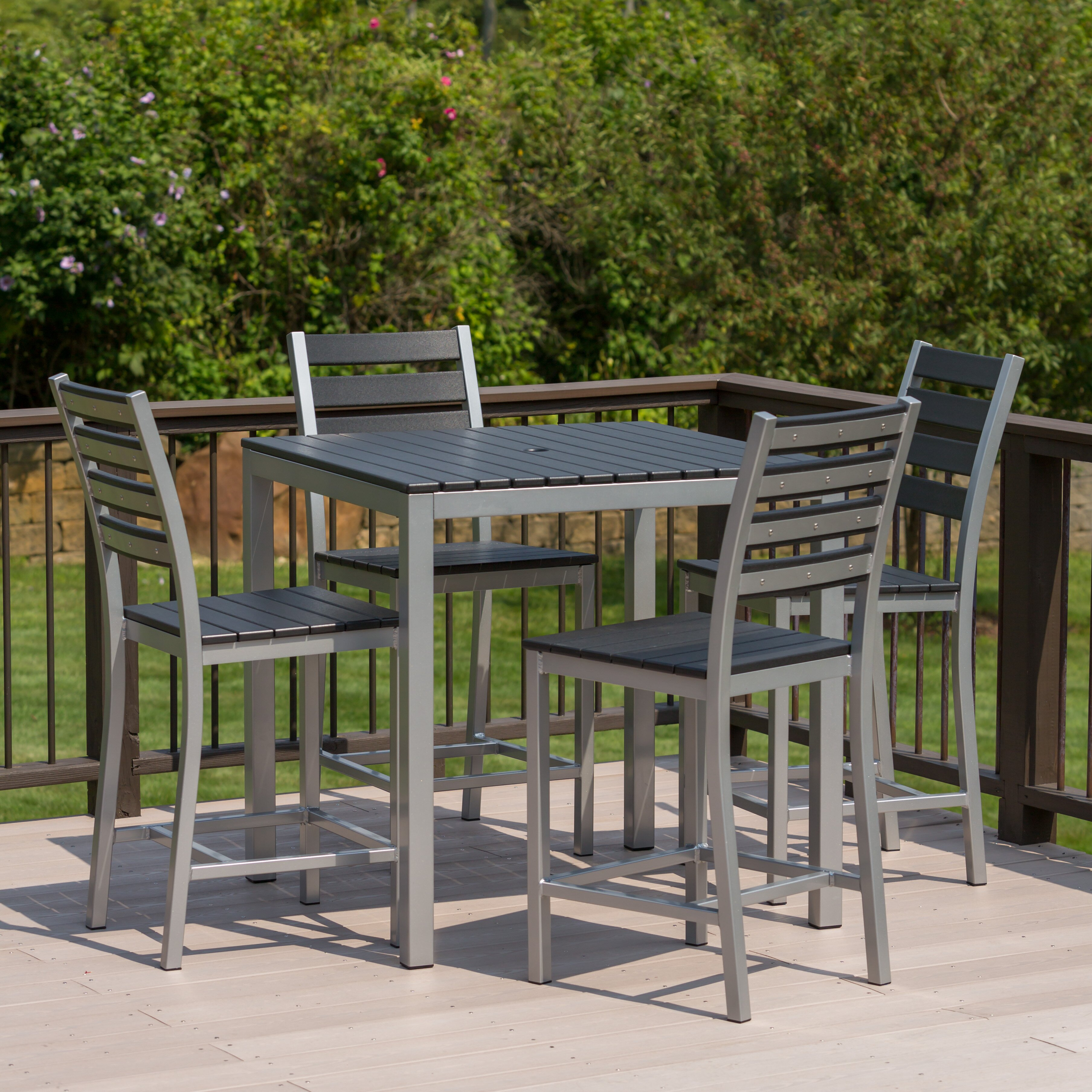 Counter Height Patio Dining Sets : Elan Furniture Loft Outdoor Counter Height Dining Set 253 AllModern