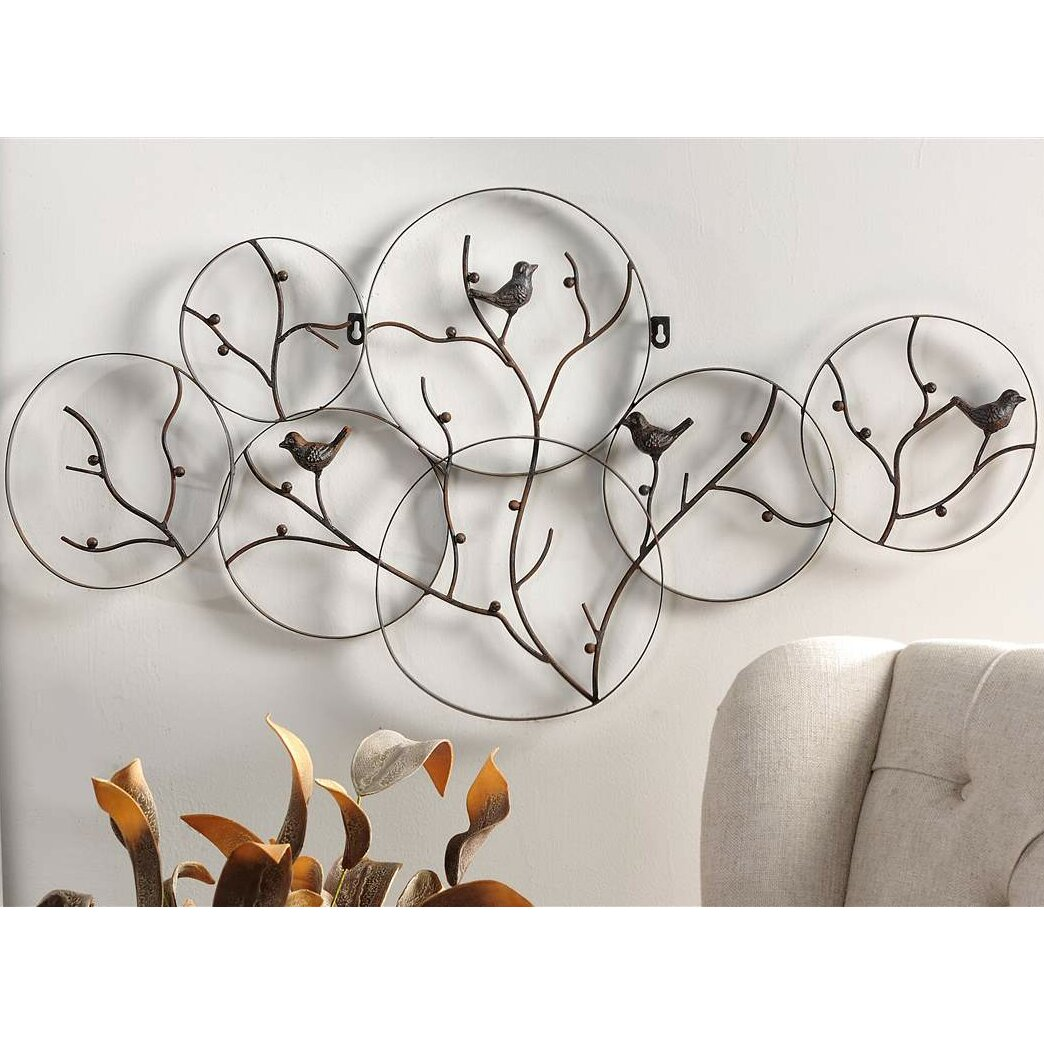 Bird on branch wall decor for Wayfair home decor canada
