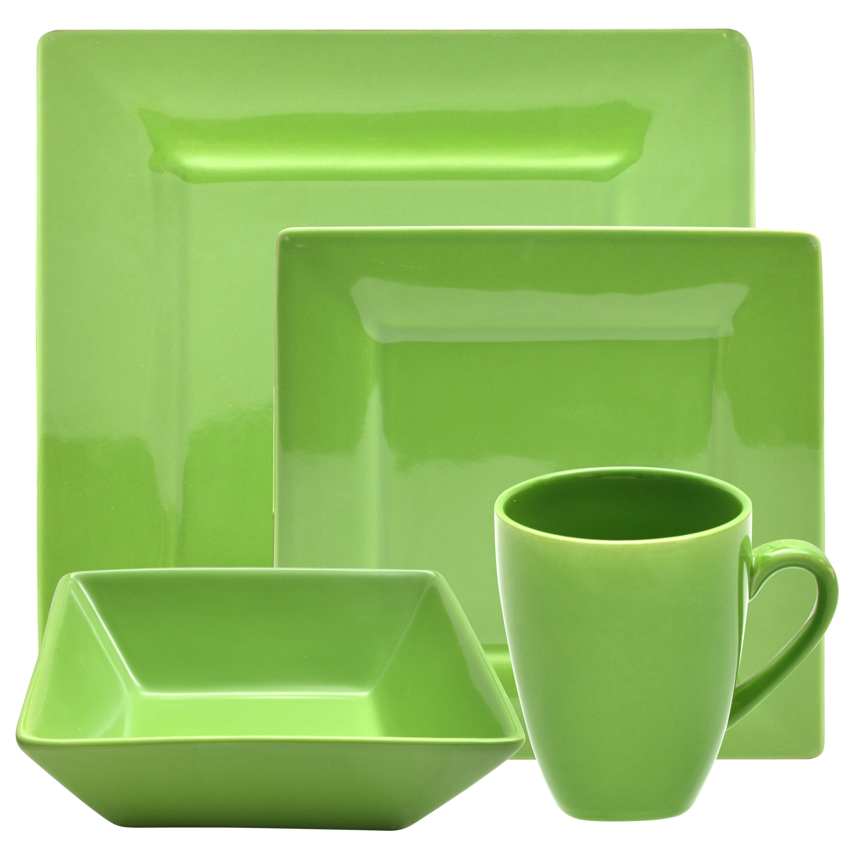nova 16 piece square dinnerware set by ten strawberry street