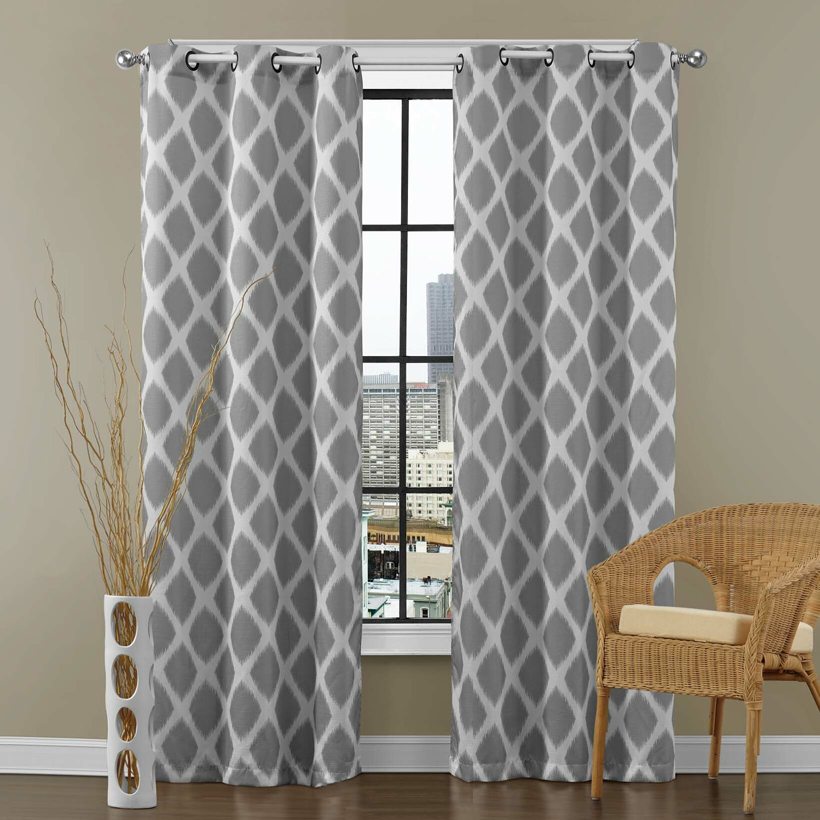am studio tribeca curtain panel allmodern