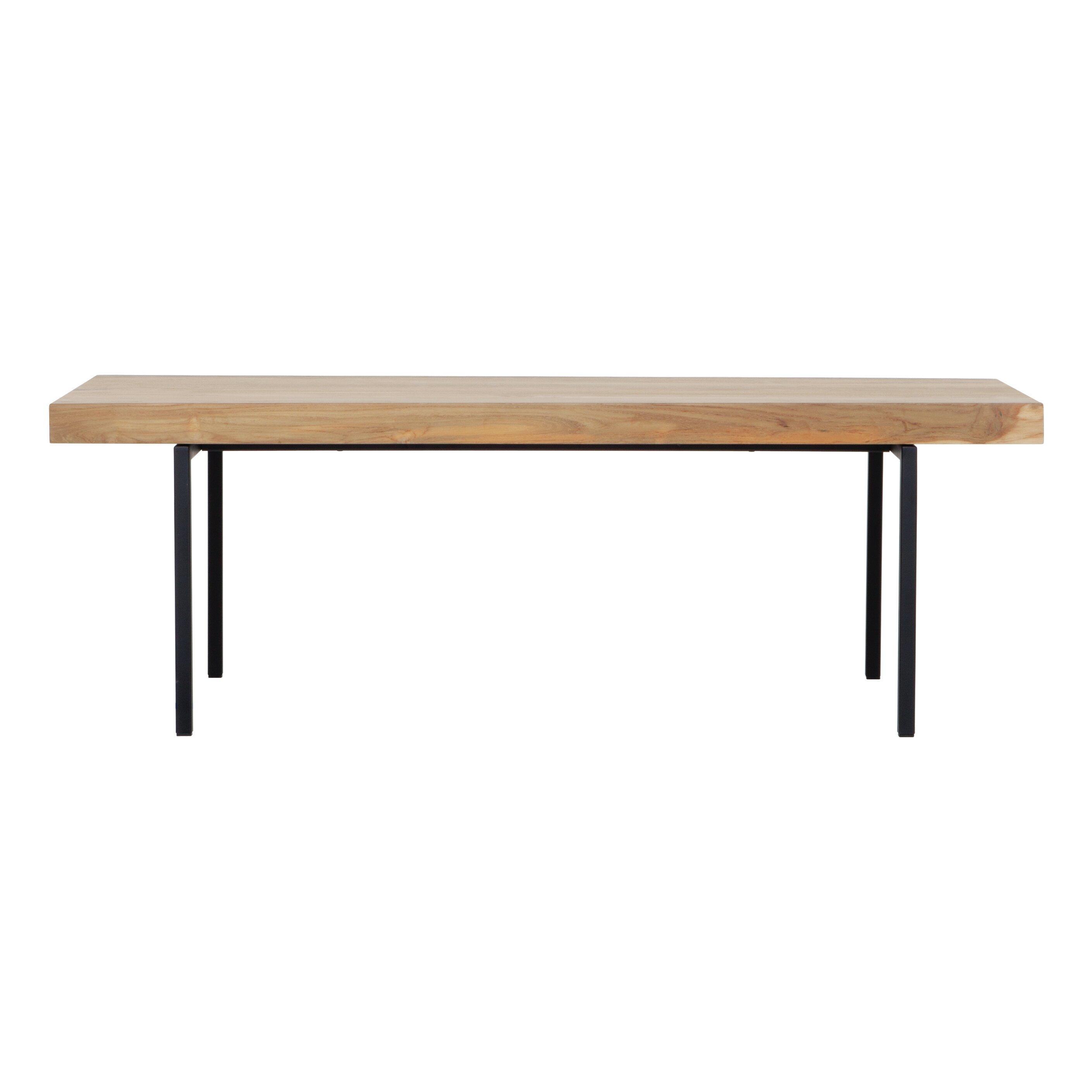 Eq3 Reclaimed Teak Coffee Table Allmodern