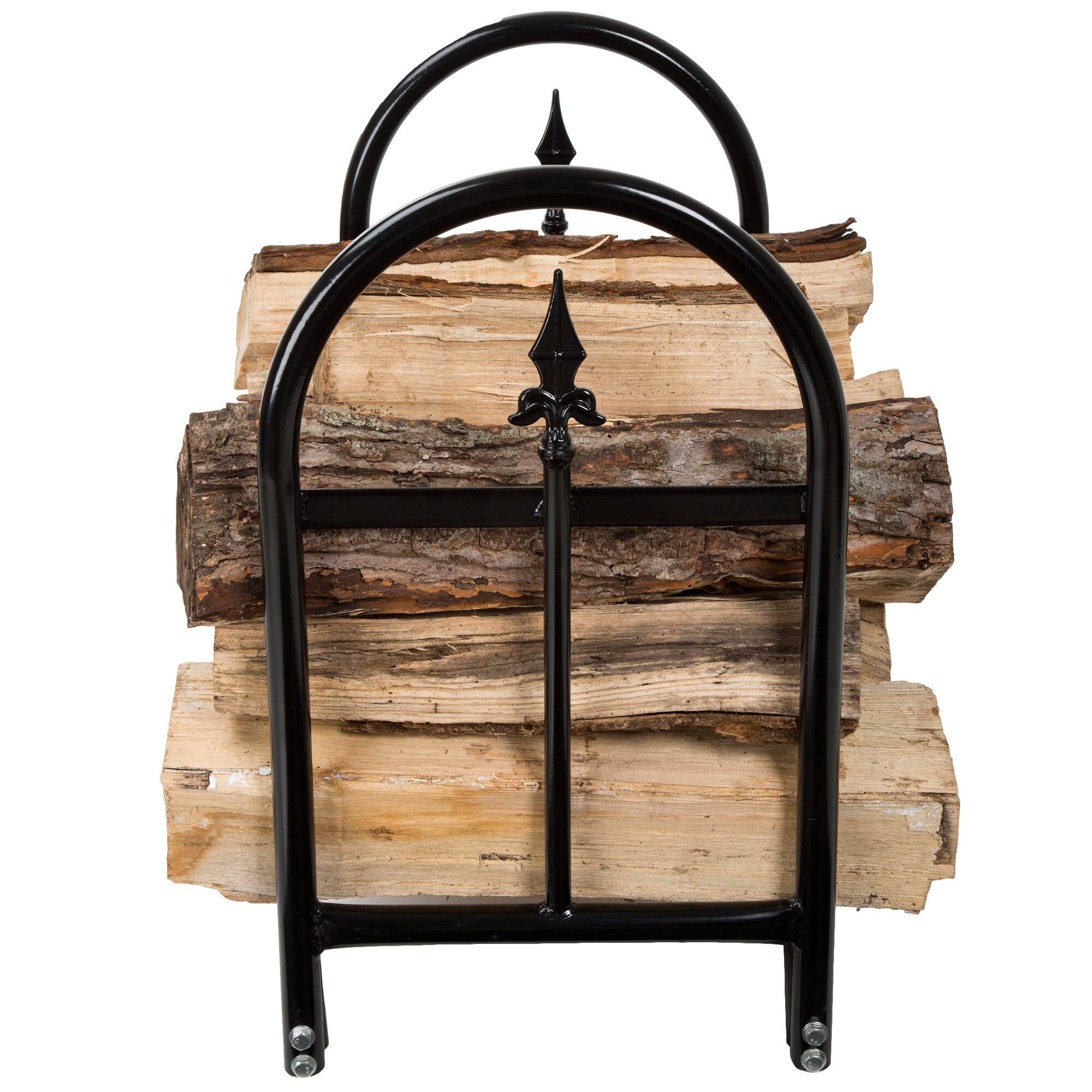 Spear Fireplace Log Rack Wayfair