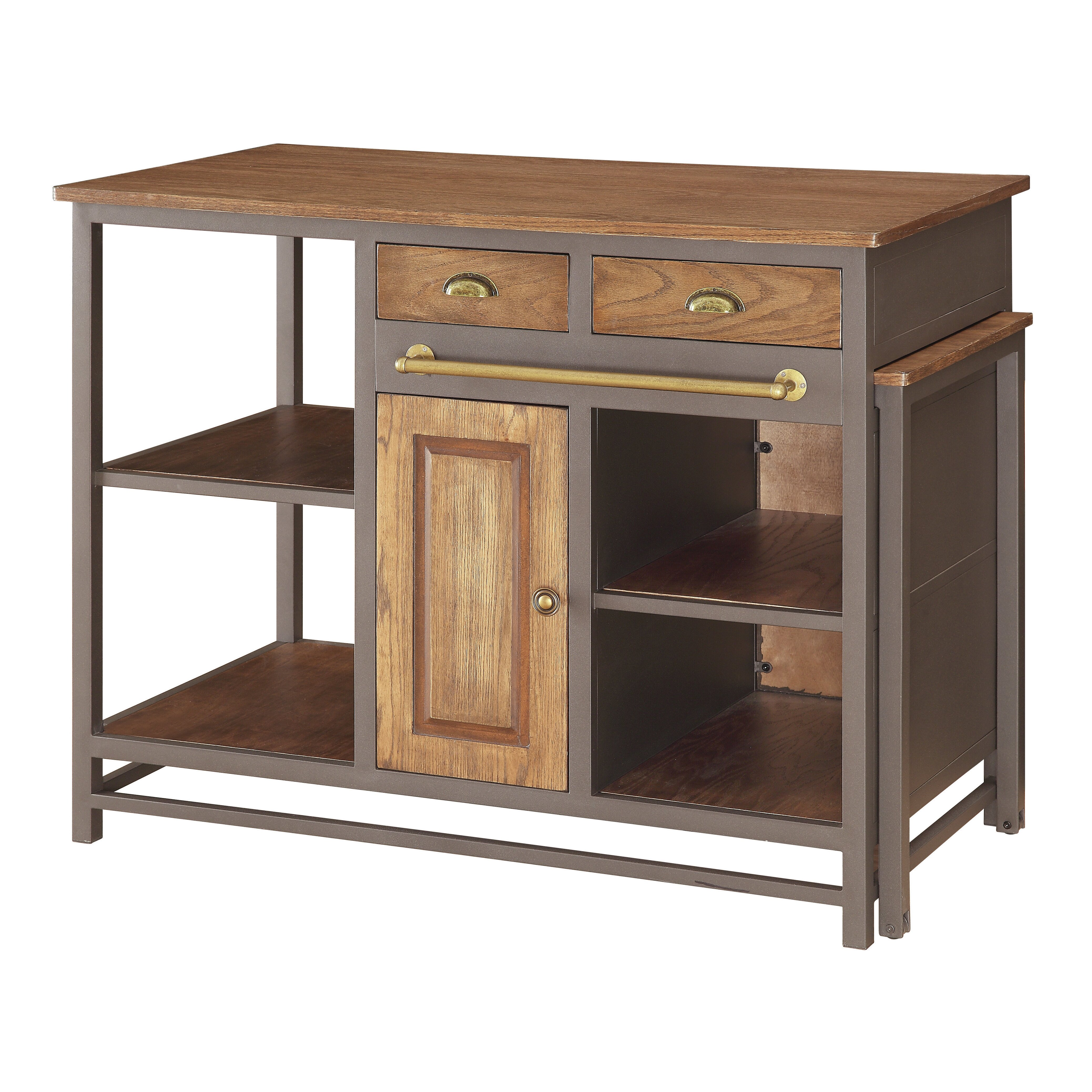 Kitchen Wood Top: Kitchen Island With Wood Top
