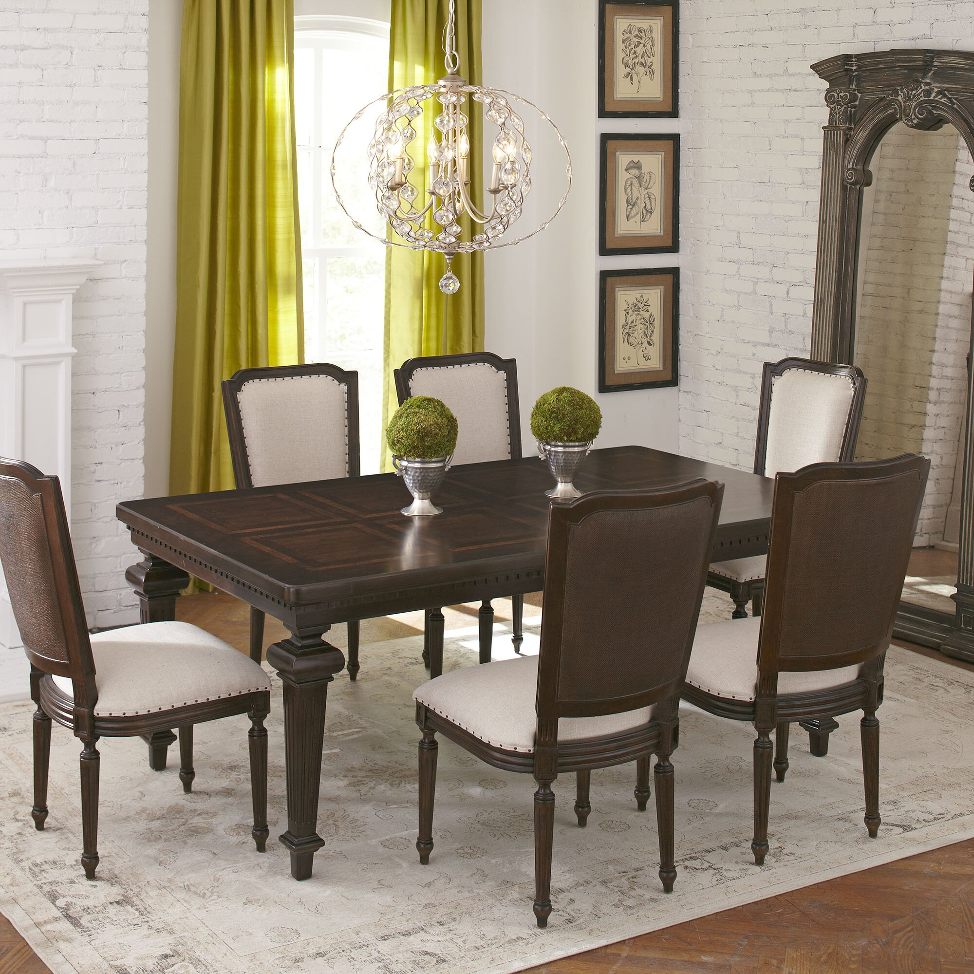 Birch Lane Rollins Extending Dining Table: Moore Extending Dining Table