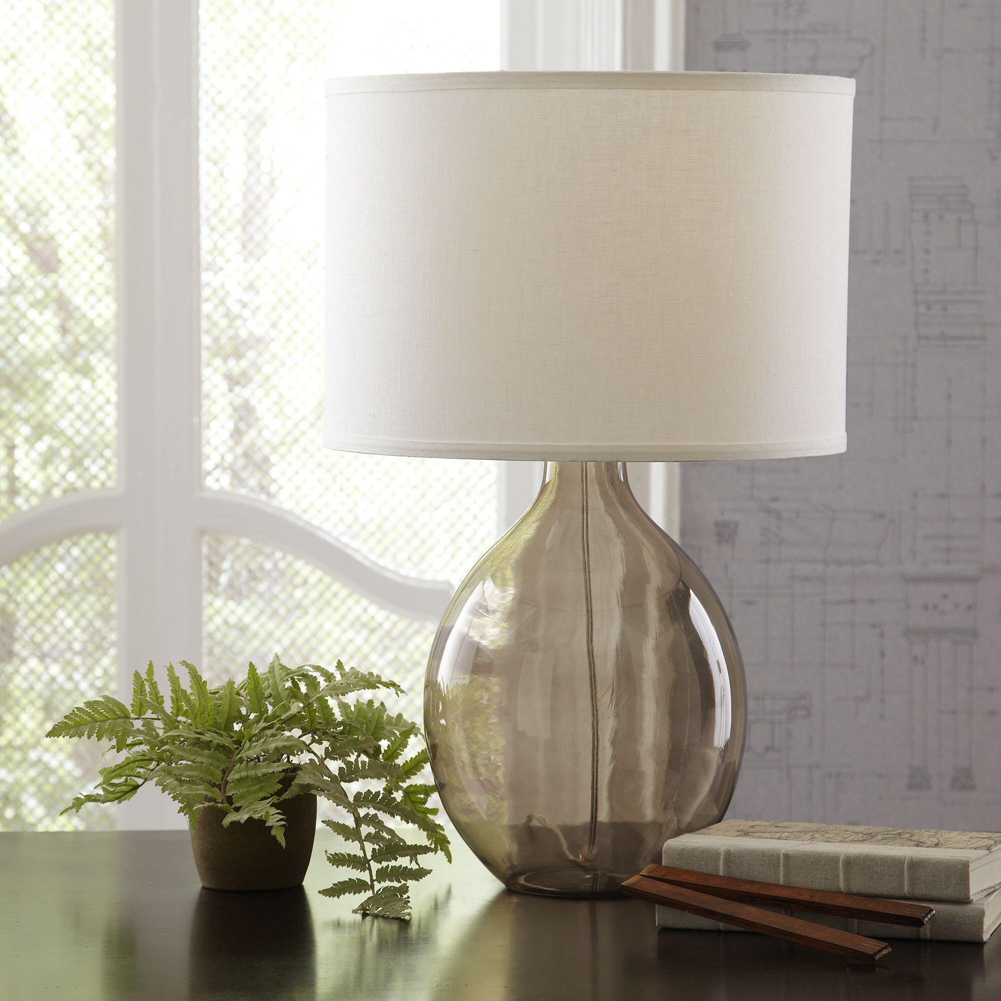 Riverston Glass Table Lamp Wayfair