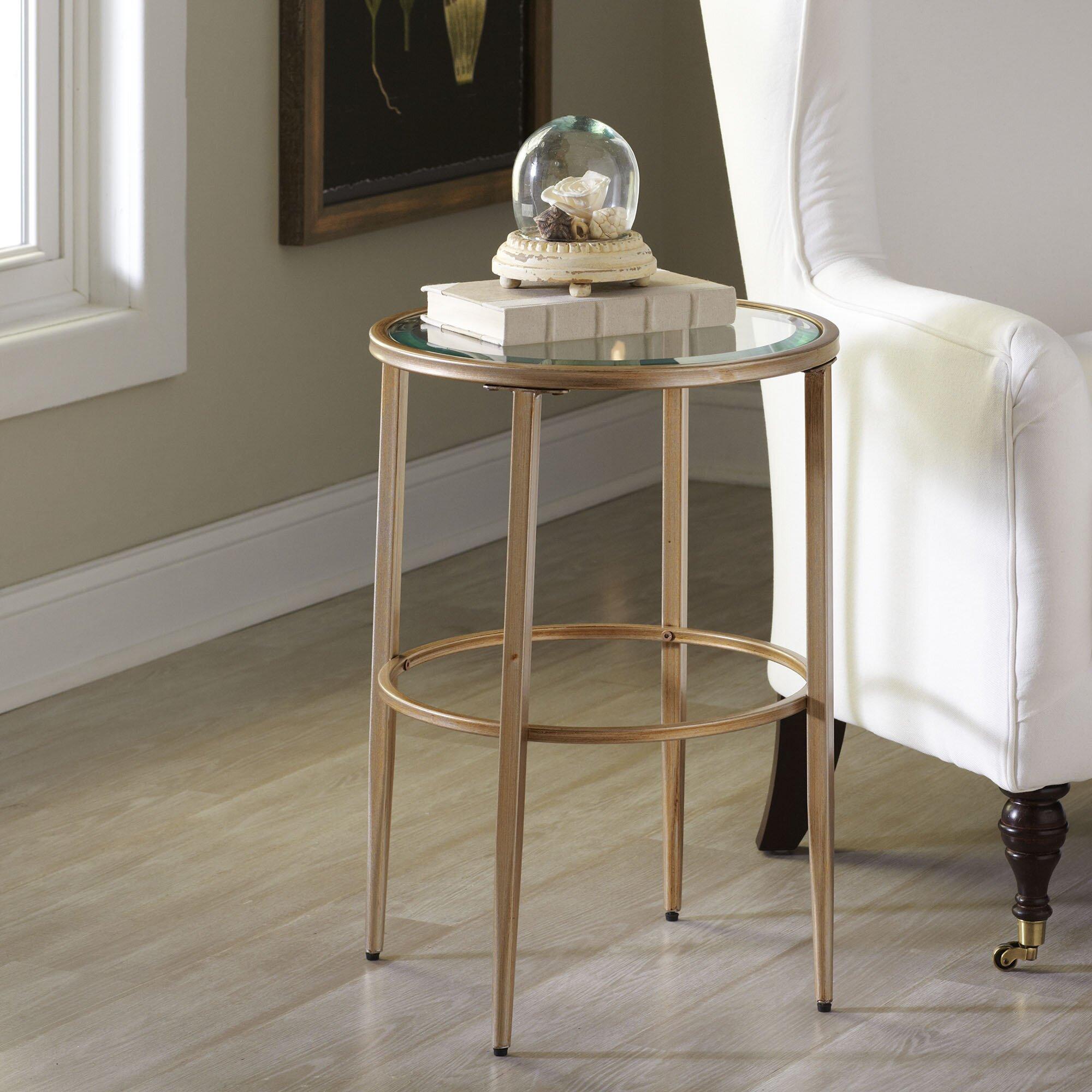Birch Lane Nash Round Side Table Amp Reviews Wayfair