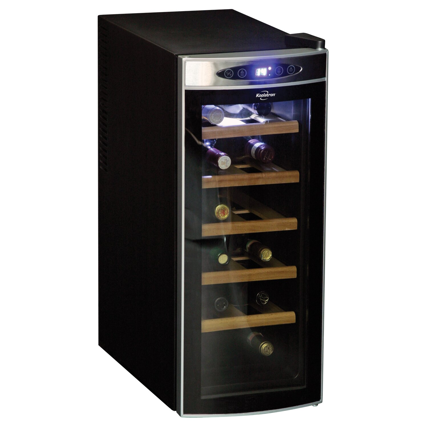 Koolatron Koolatron 12 Bottle Single Zone Wine Refrigerator & Reviews | Wayfair