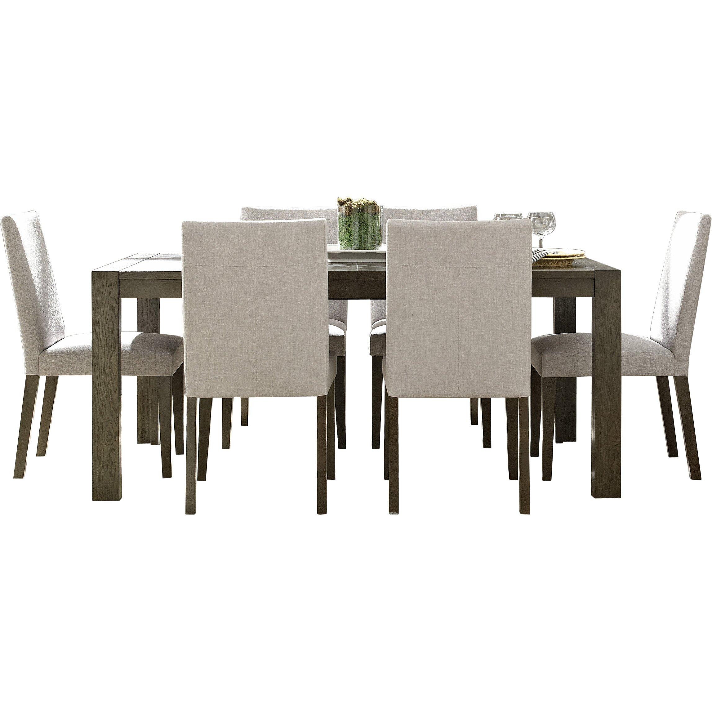 Casana furniture company hudson 7 piece dining set for Furniture 7 credit reviews