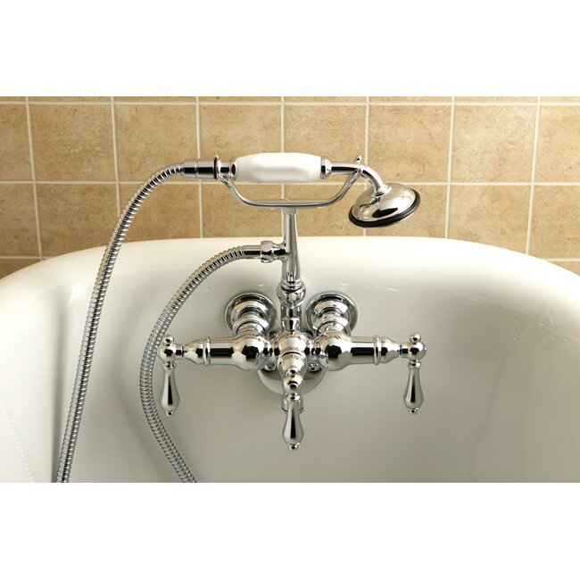 Kingston Brass Vintage Clawfoot Tub Faucet Amp Reviews Wayfair