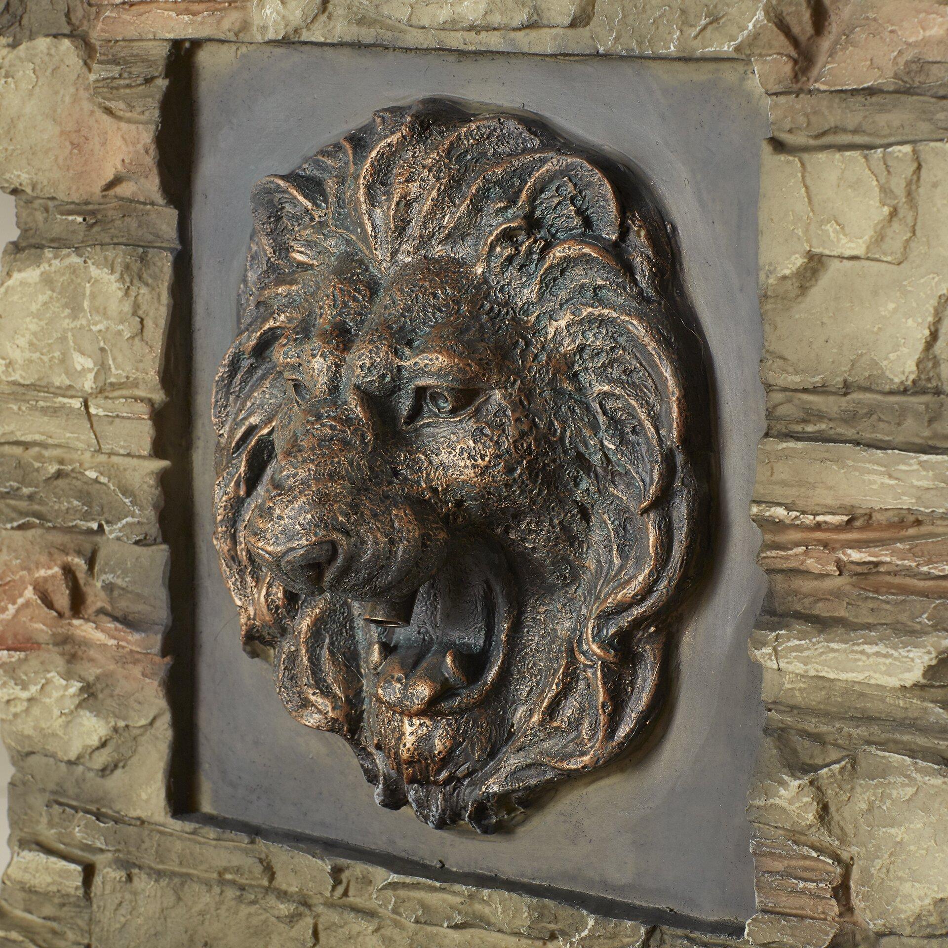 Lion Head Outdoor Indoor Water Fountain Wayfair