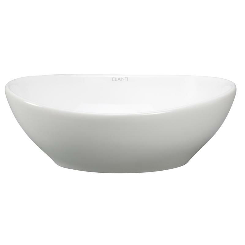 Deep Porcelain Sink : Porcelain Oval Deep Bowl Vessel Sink Wayfair