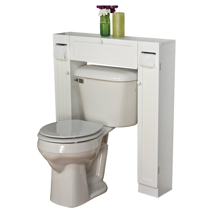 34 X 38 5 Free Standing Over The Toilet Wayfair