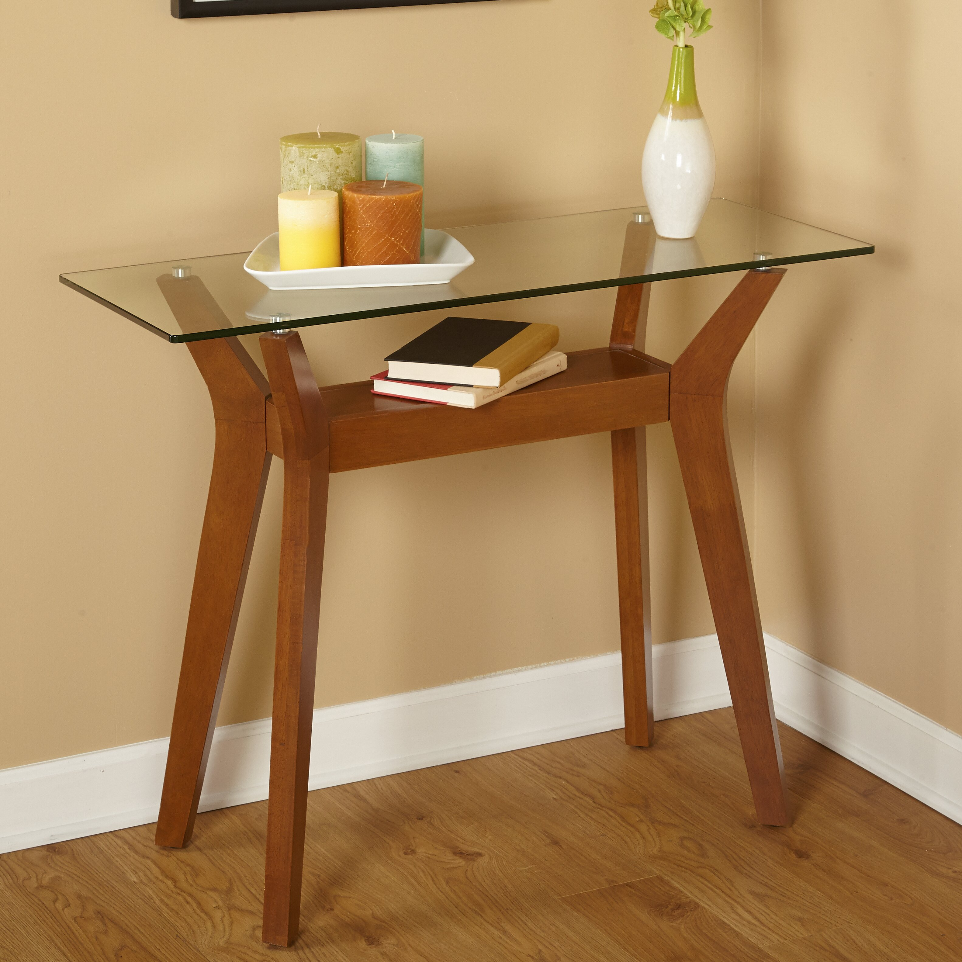 Foyer Table Bed Bath And Beyond : Cheap console tables cherry foyer table cappuccino