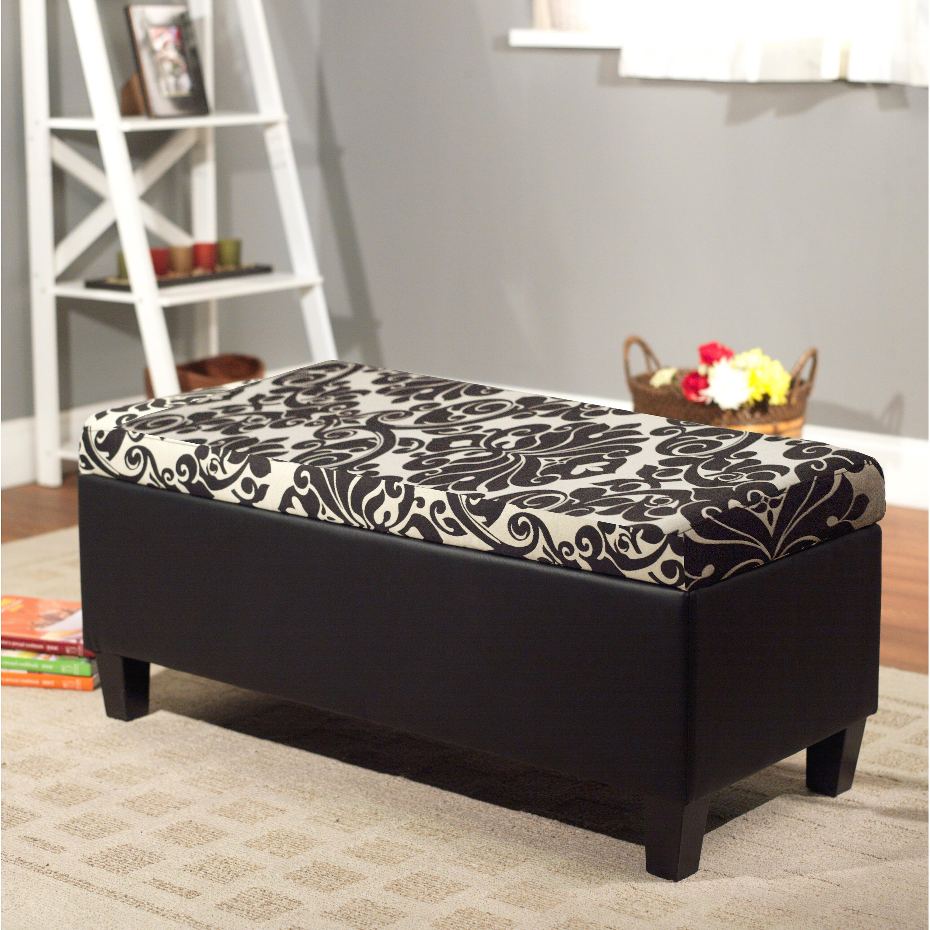 TMS Zoe Storage Bedroom Bench & Reviews