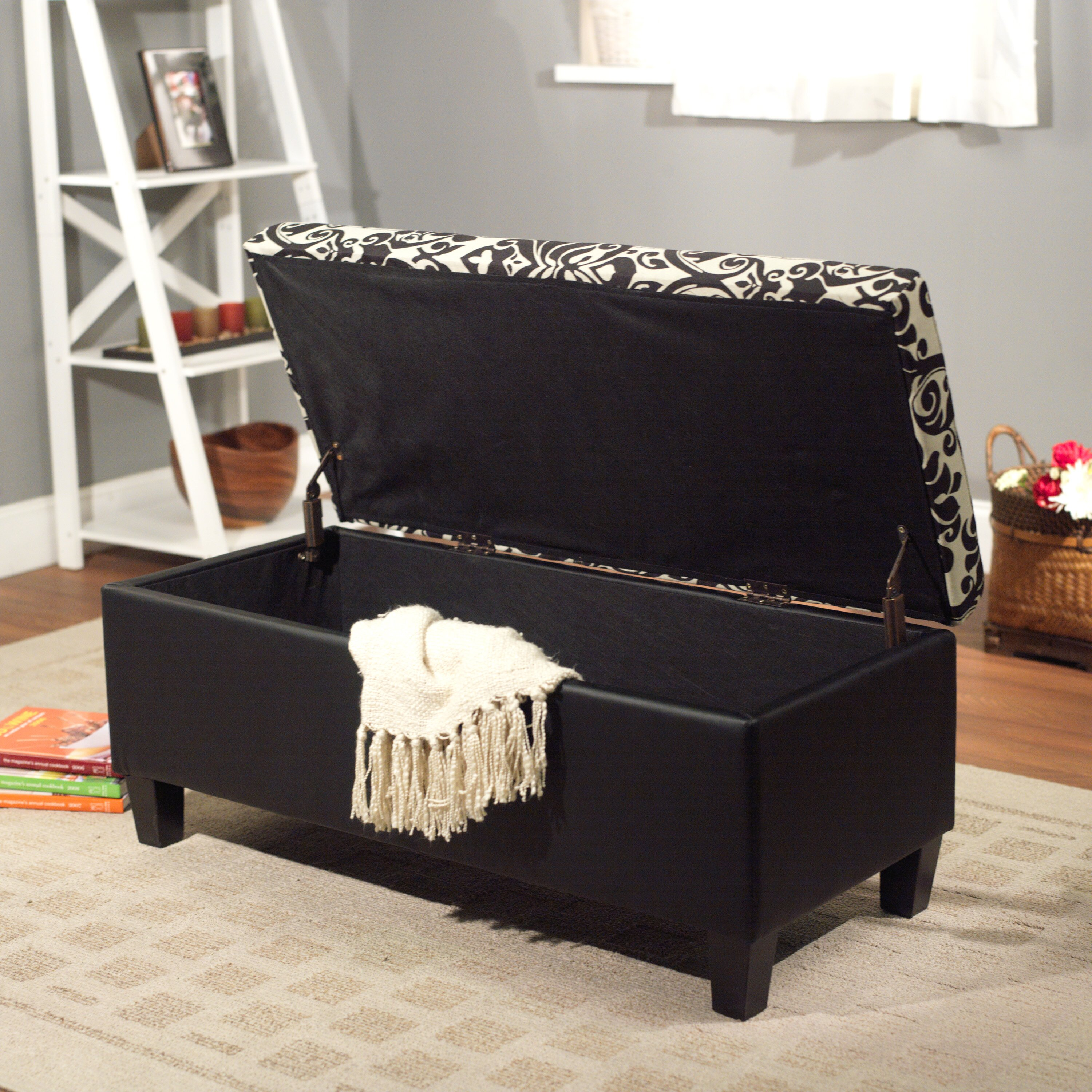 zoe storage bedroom bench wayfair