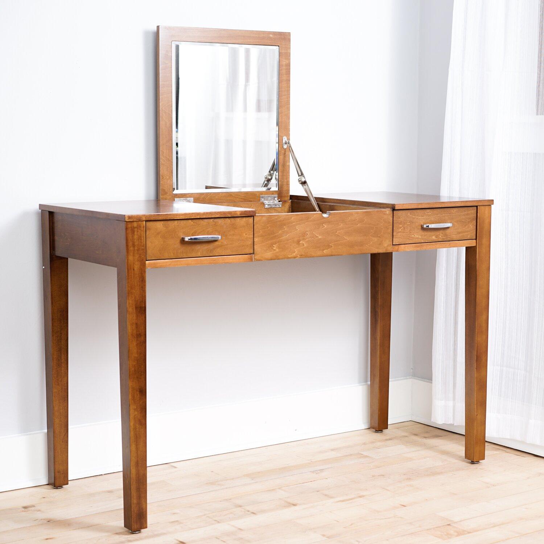 Ainsley Vanity Desk with Mirror
