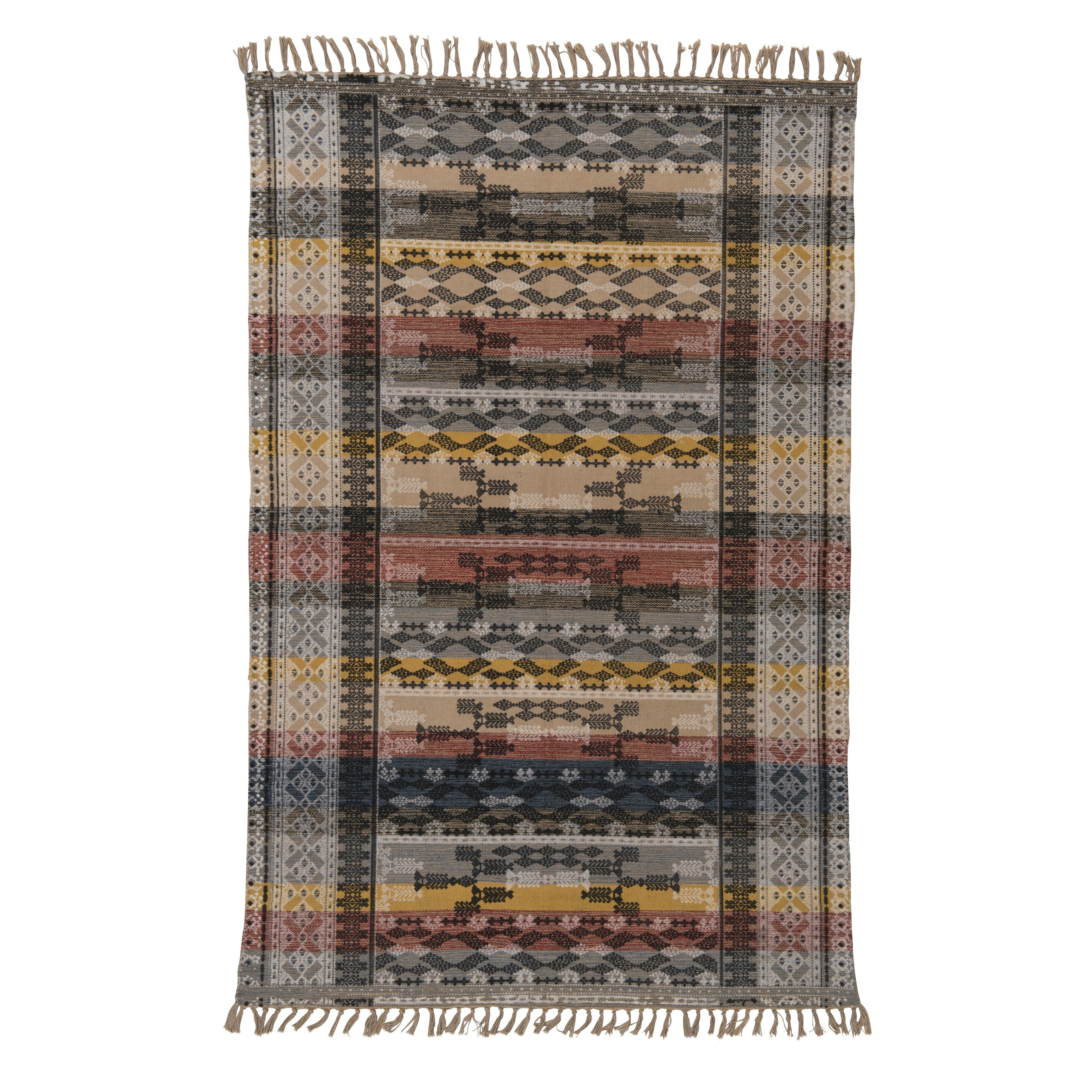 Handgewebter Teppich in Bunt von Ian Snow  Wayfairde