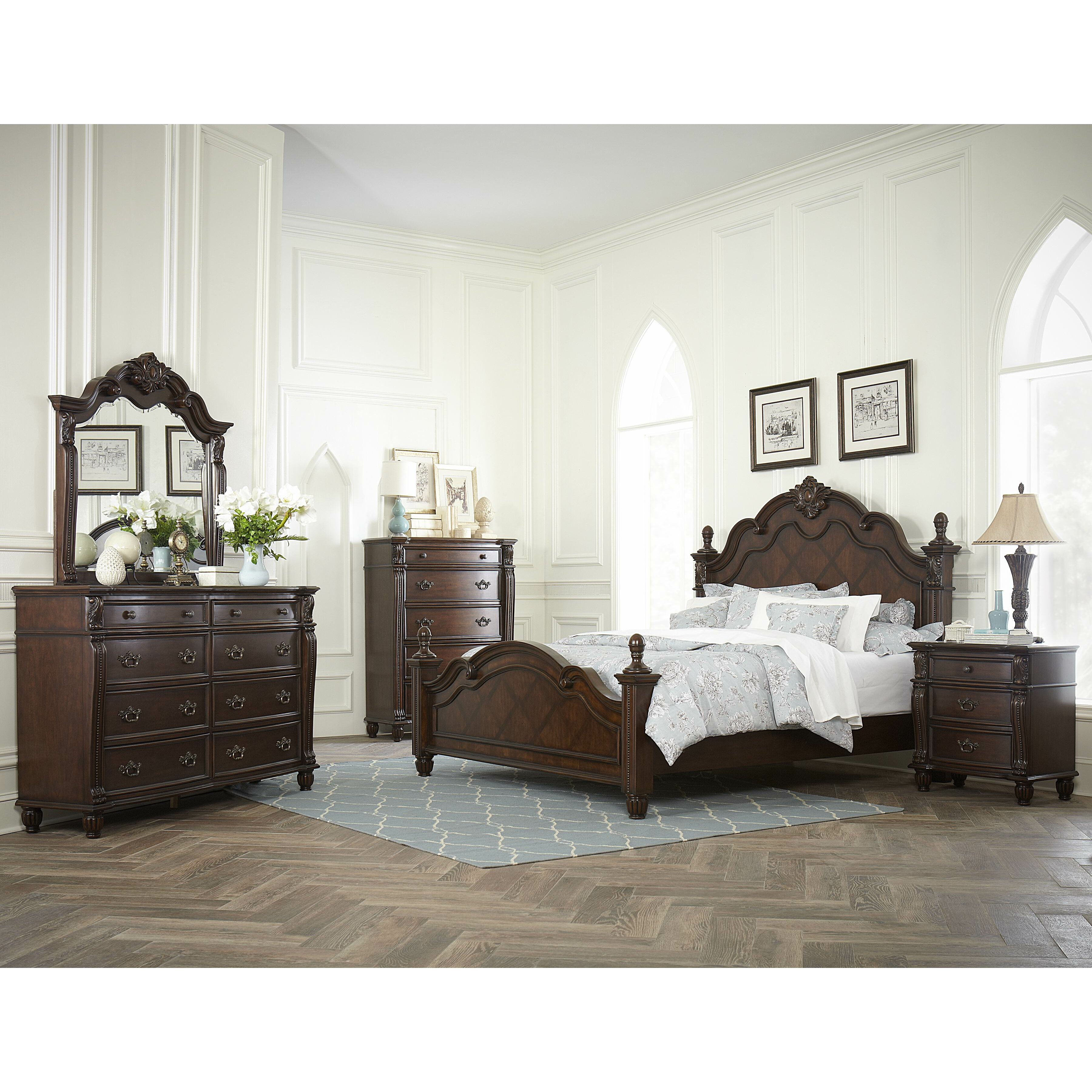Woodbridge Home Designs Furniture Review Woodhaven Hill Hadley Row Panel Bed Amp Reviews Wayfair