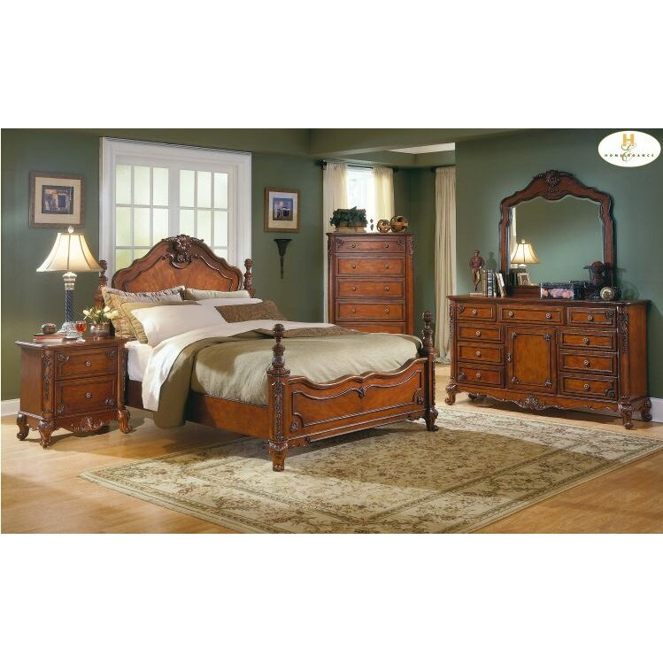 Woodhaven Hill 1385 Series Panel Bed Reviews Wayfair