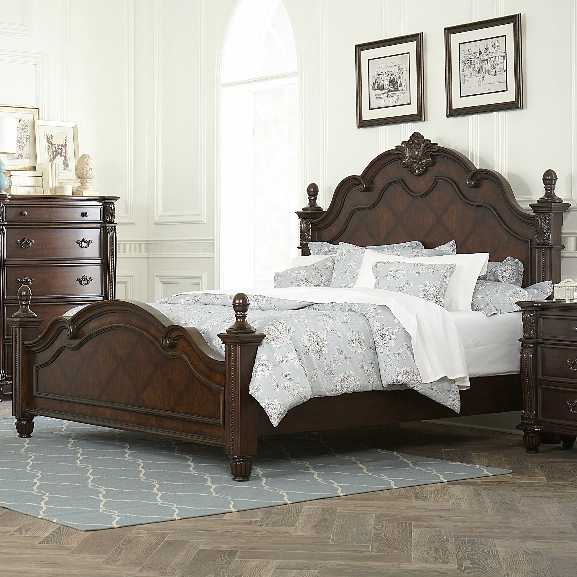 Woodhaven Hill Hadley Row Panel Bed Reviews Wayfair