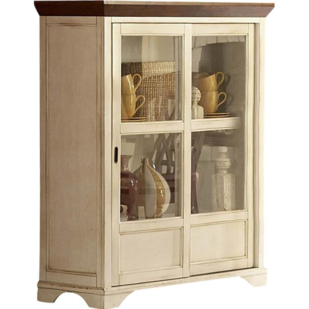 Woodbridge Kitchen Cabinets: Woodhaven Hill Ohana Curio Cabinet & Reviews