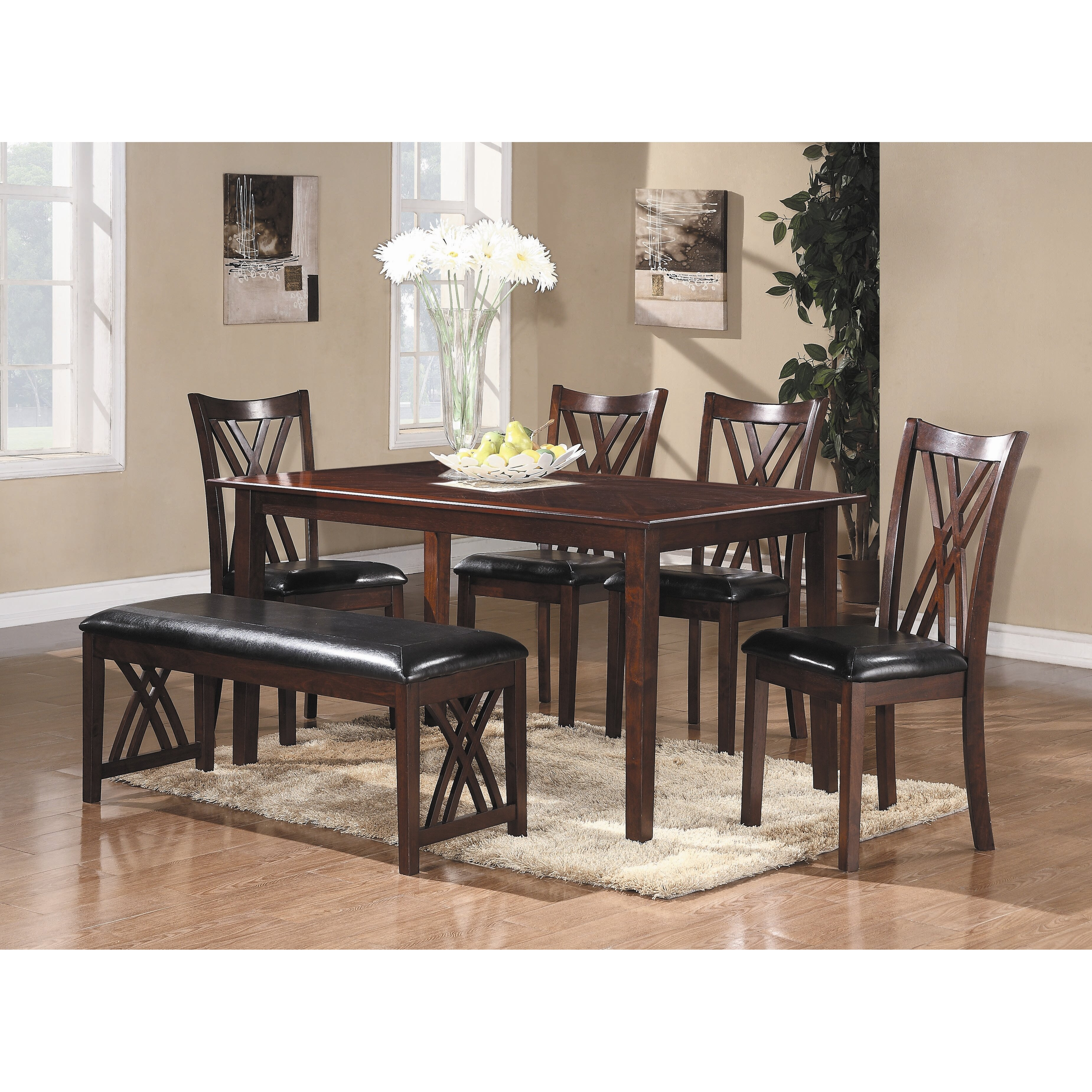 Woodhaven Hill Brooksville 6 Piece Dining Set & Reviews