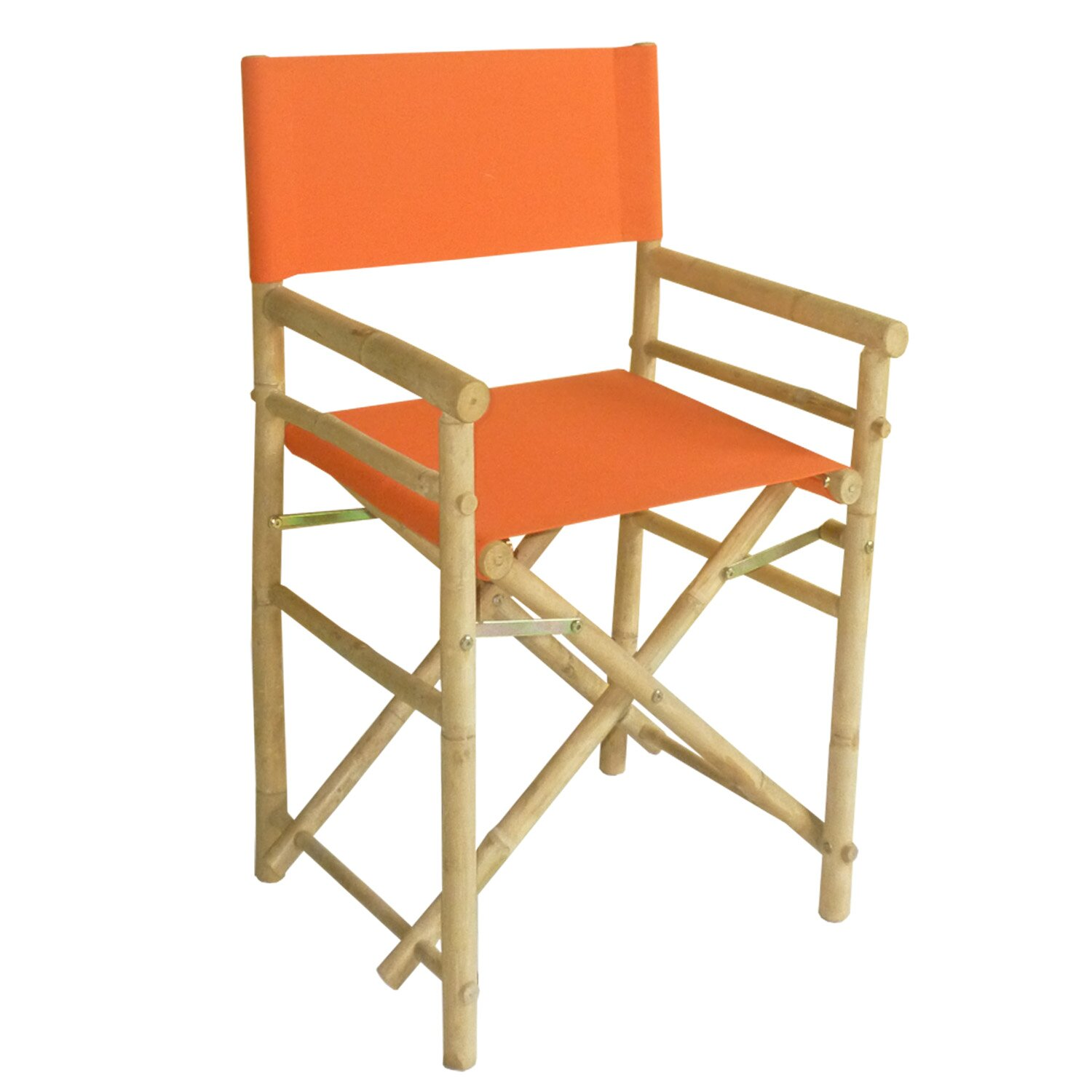 crafted outdoor indoor bamboo director chair reviews wayfair