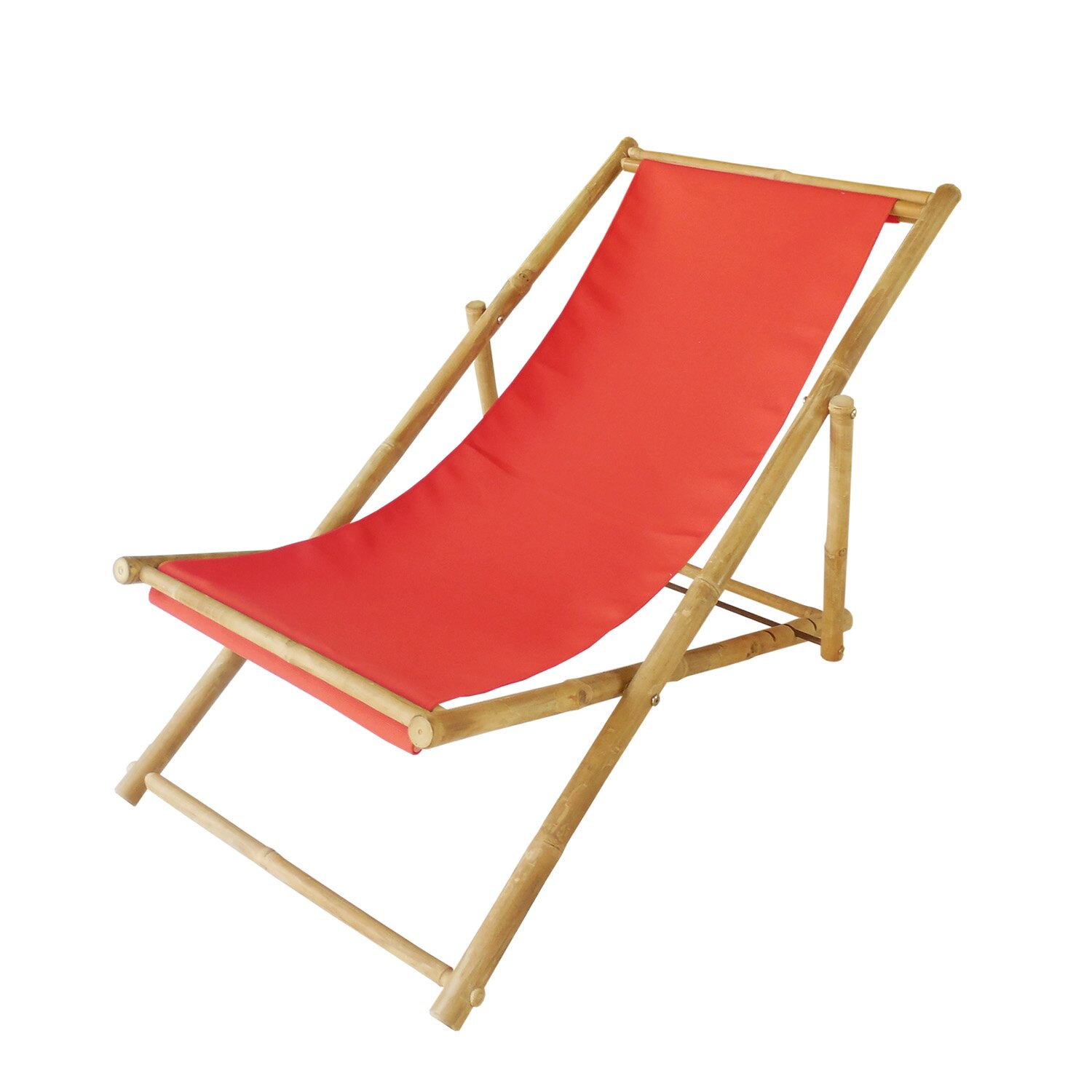 Zew Hand Crafted Bamboo Folding Sling Chair Reviews