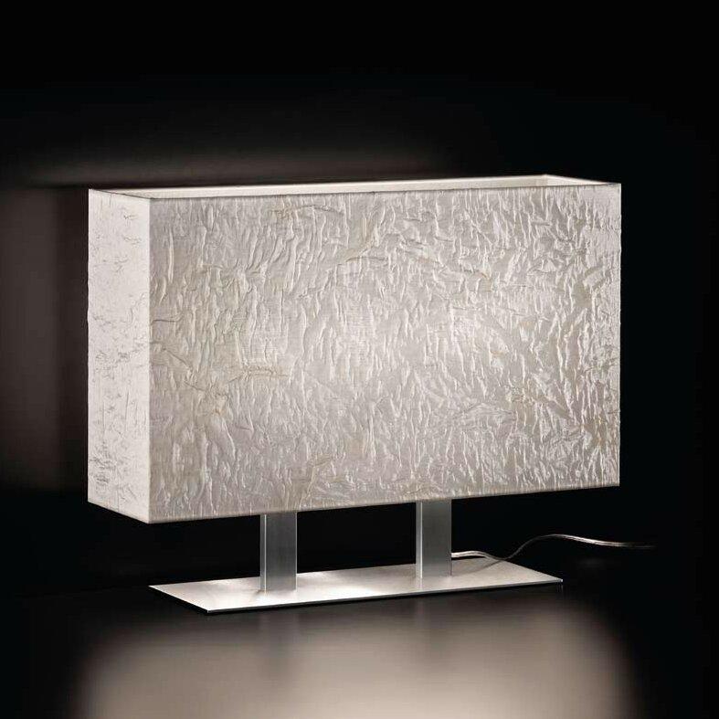 morosini dress 17 7 h table lamp with rectangular shade allmodern. Black Bedroom Furniture Sets. Home Design Ideas