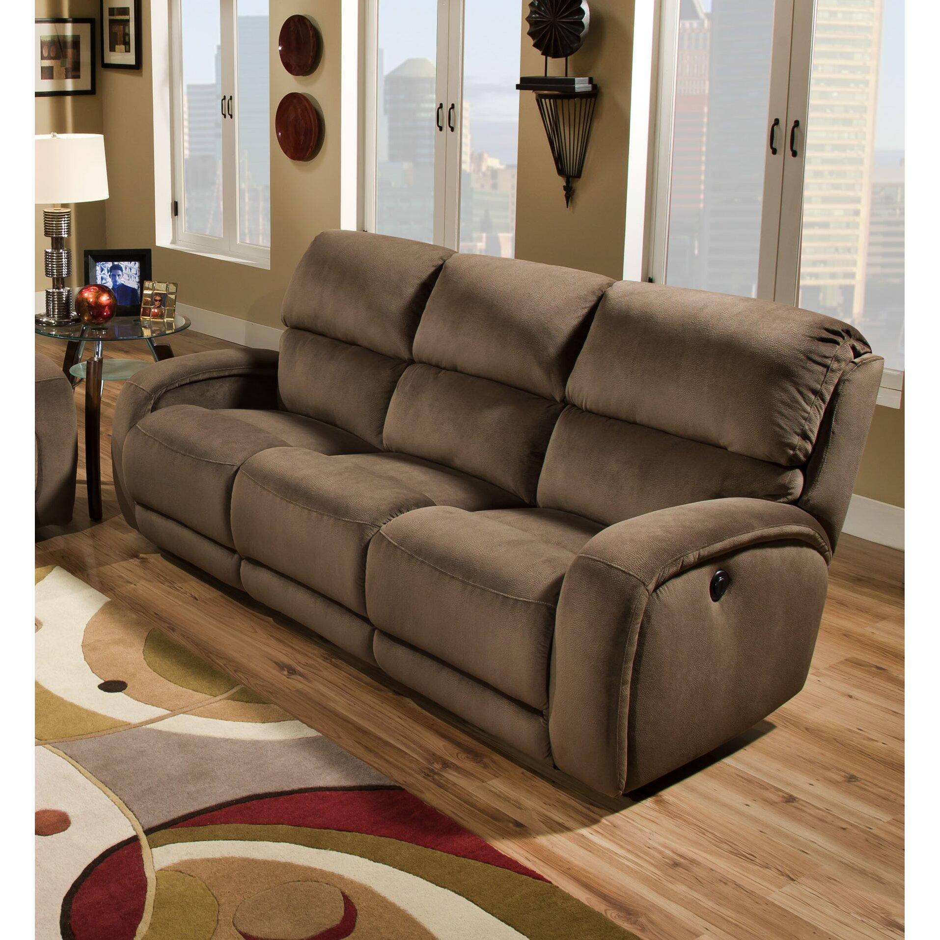 Fandango Double Reclining Sofa Wayfair