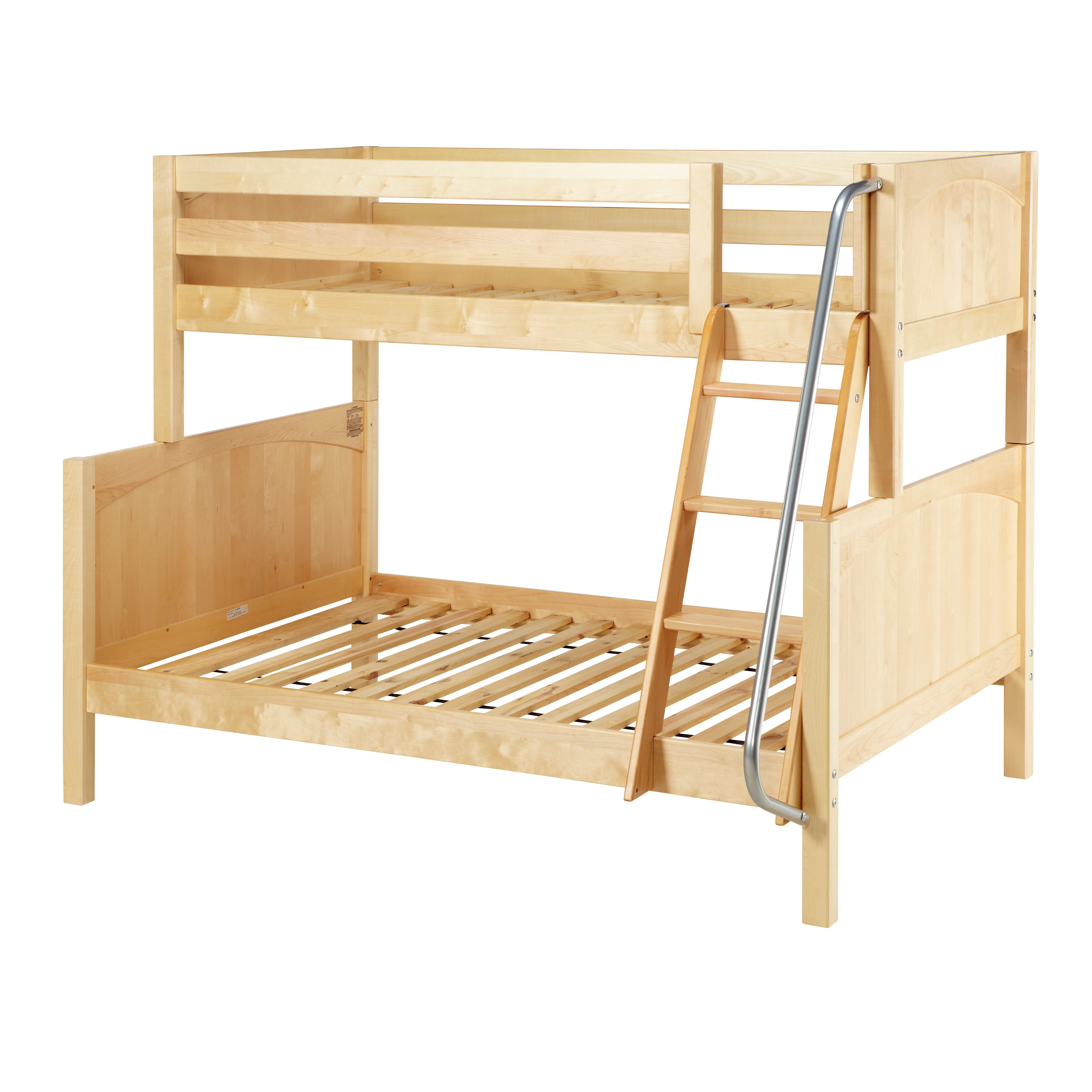 Slope twin over full bunk bed wayfair for Twin over full bunk bed