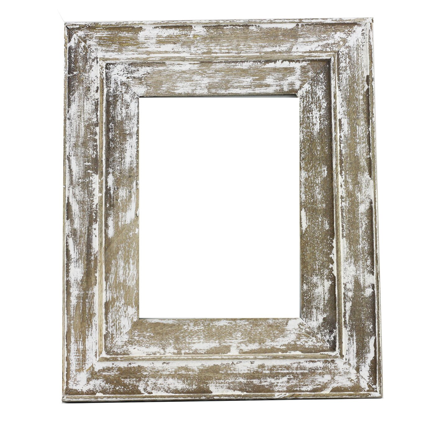 distressed wood picture frame by timbergirl