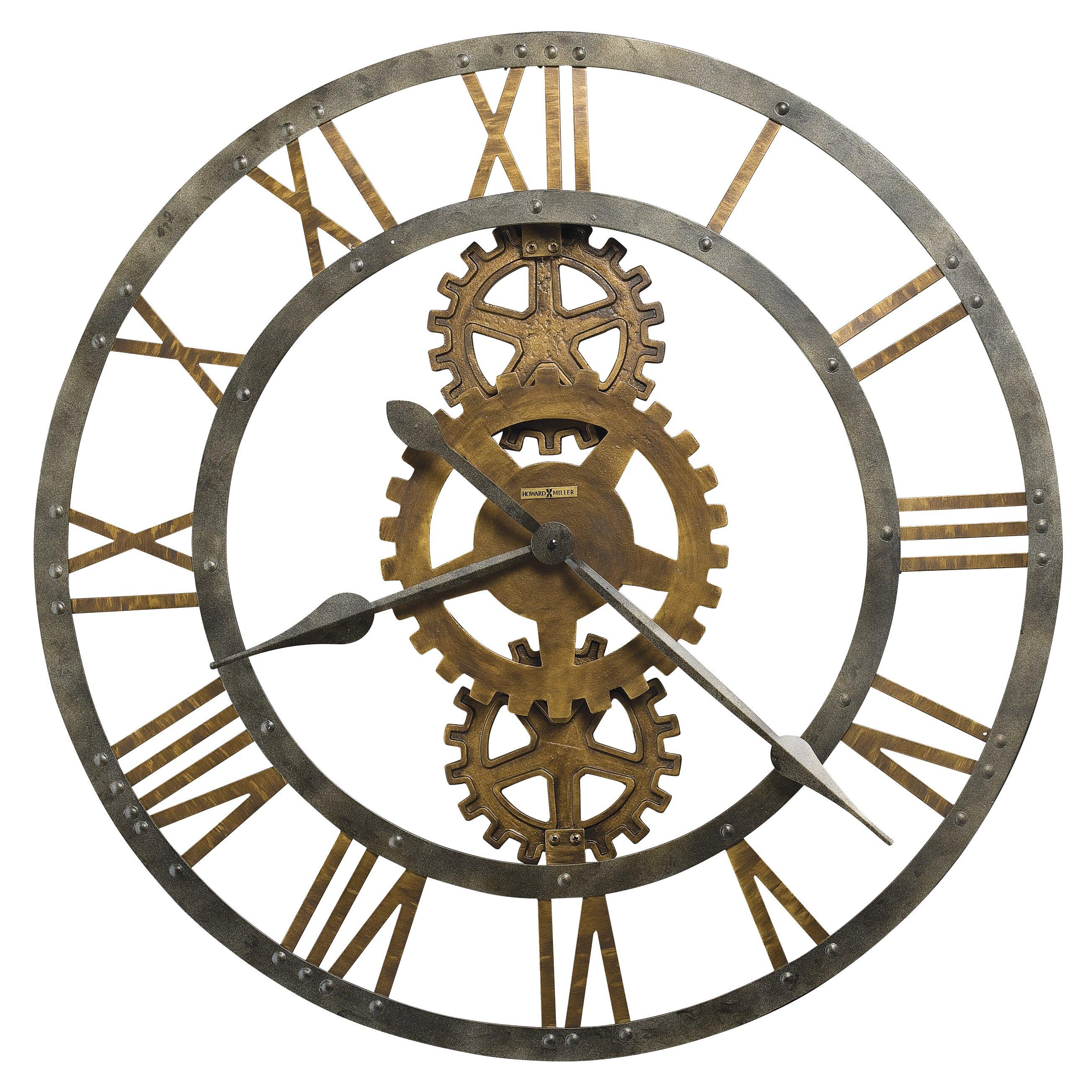 oversized 30 crosby wall clock