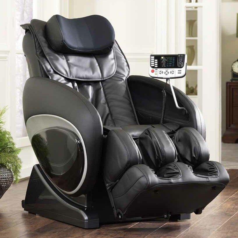 Cozzia 6027 robotic zero gravity reclining massage chair - Zero gravity recliner chair for living room ...