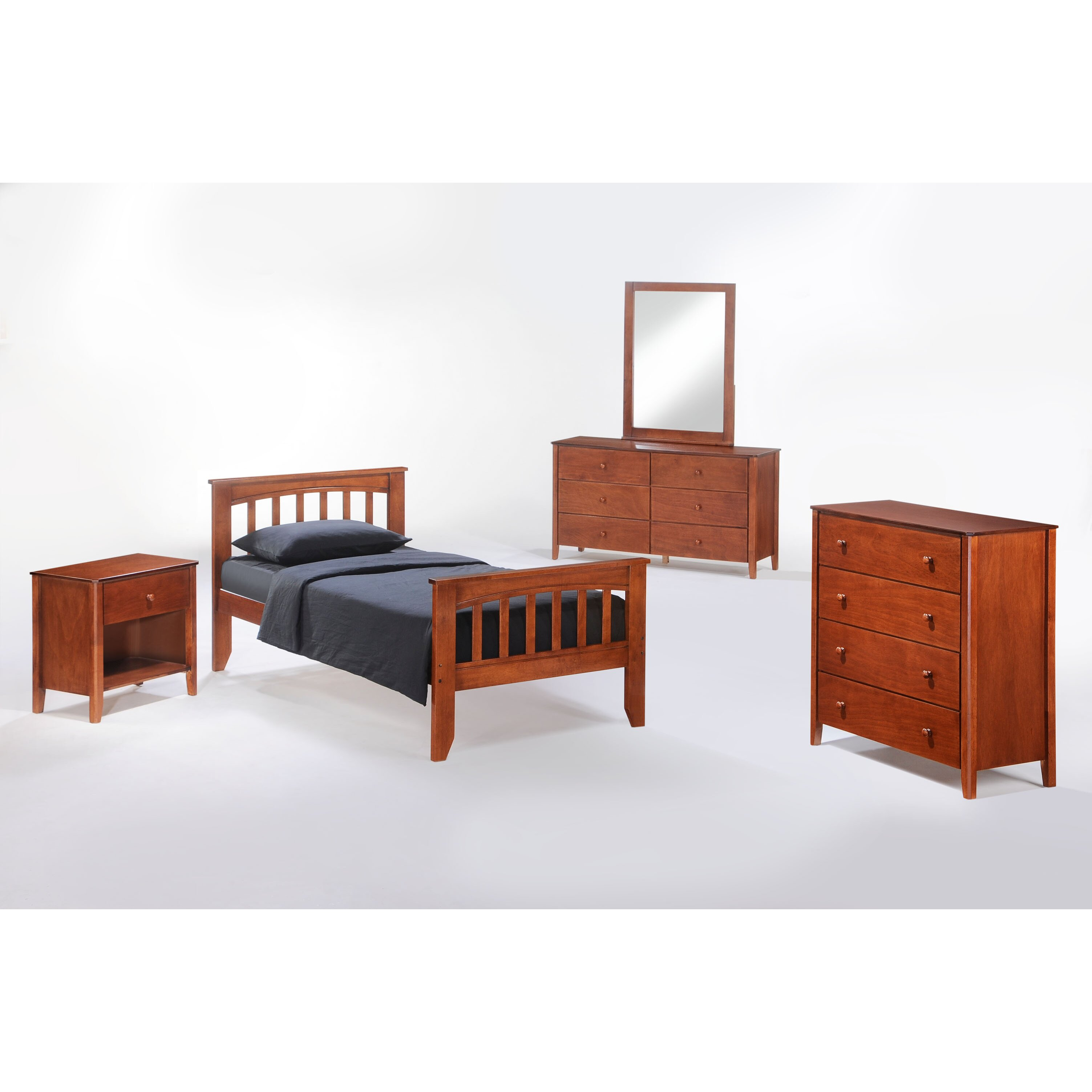 Night day zest full panel customizable bedroom set for Furniture 2 day shipping