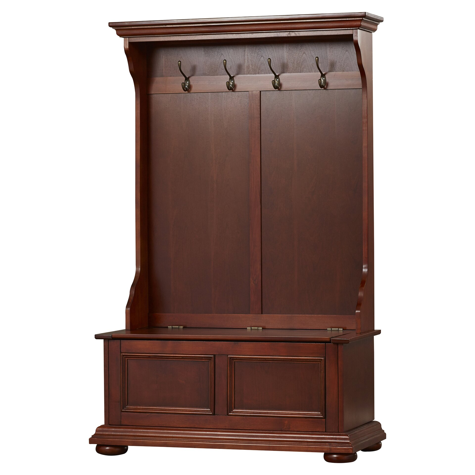 Darby Home Co Chilton Entryway Hall Tree & Reviews | Wayfair