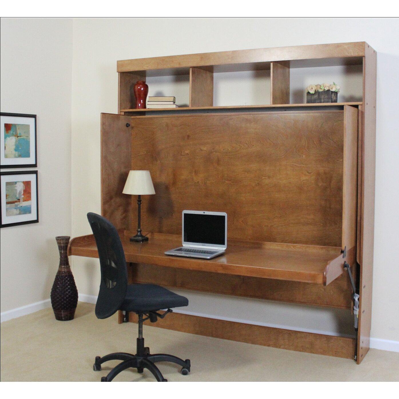 Wallbeds Modern Birch Murphy Bed & Reviews  Wayfair