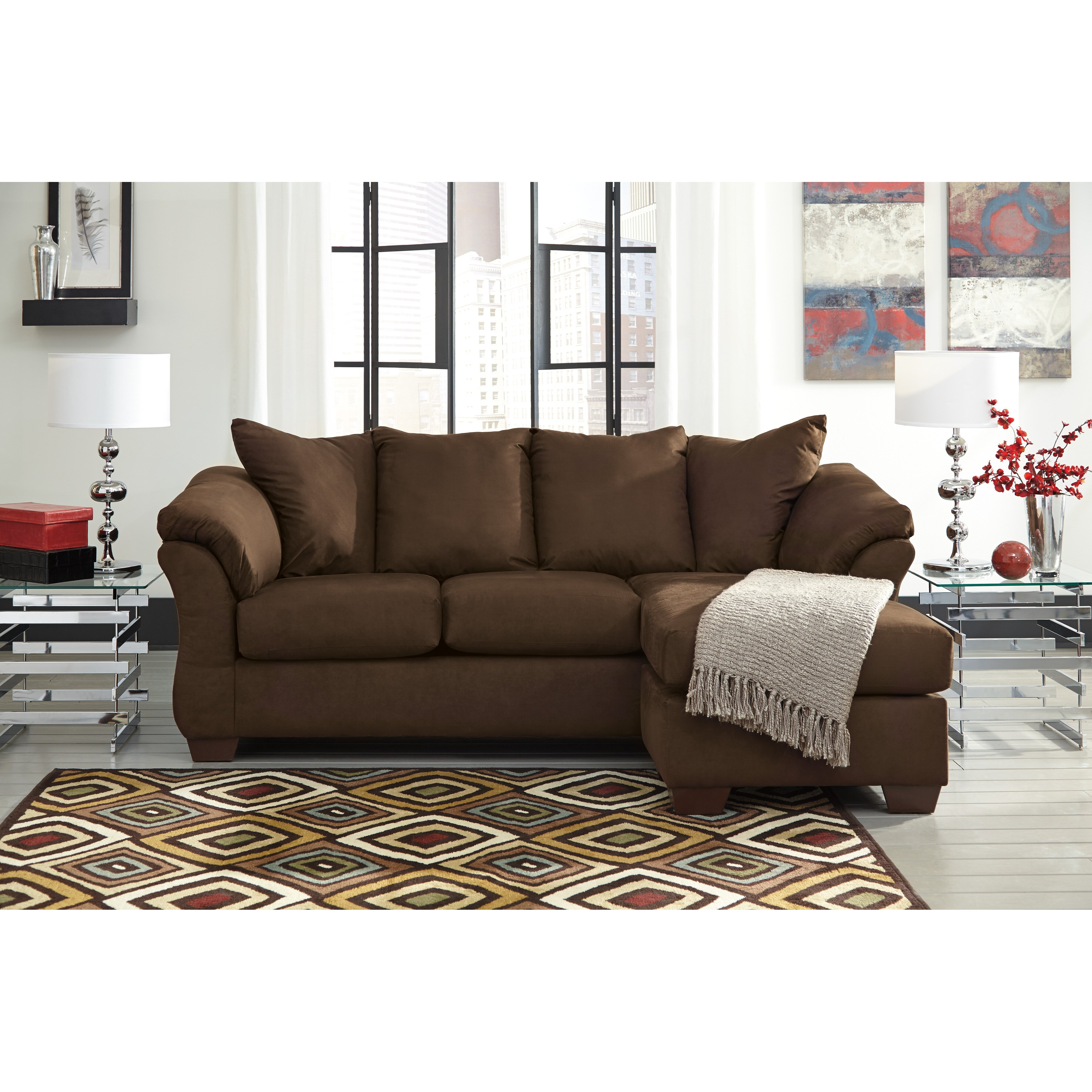 Sectional Sofas By Ashley Furniture: Signature Design By Ashley Darcy Sectional & Reviews