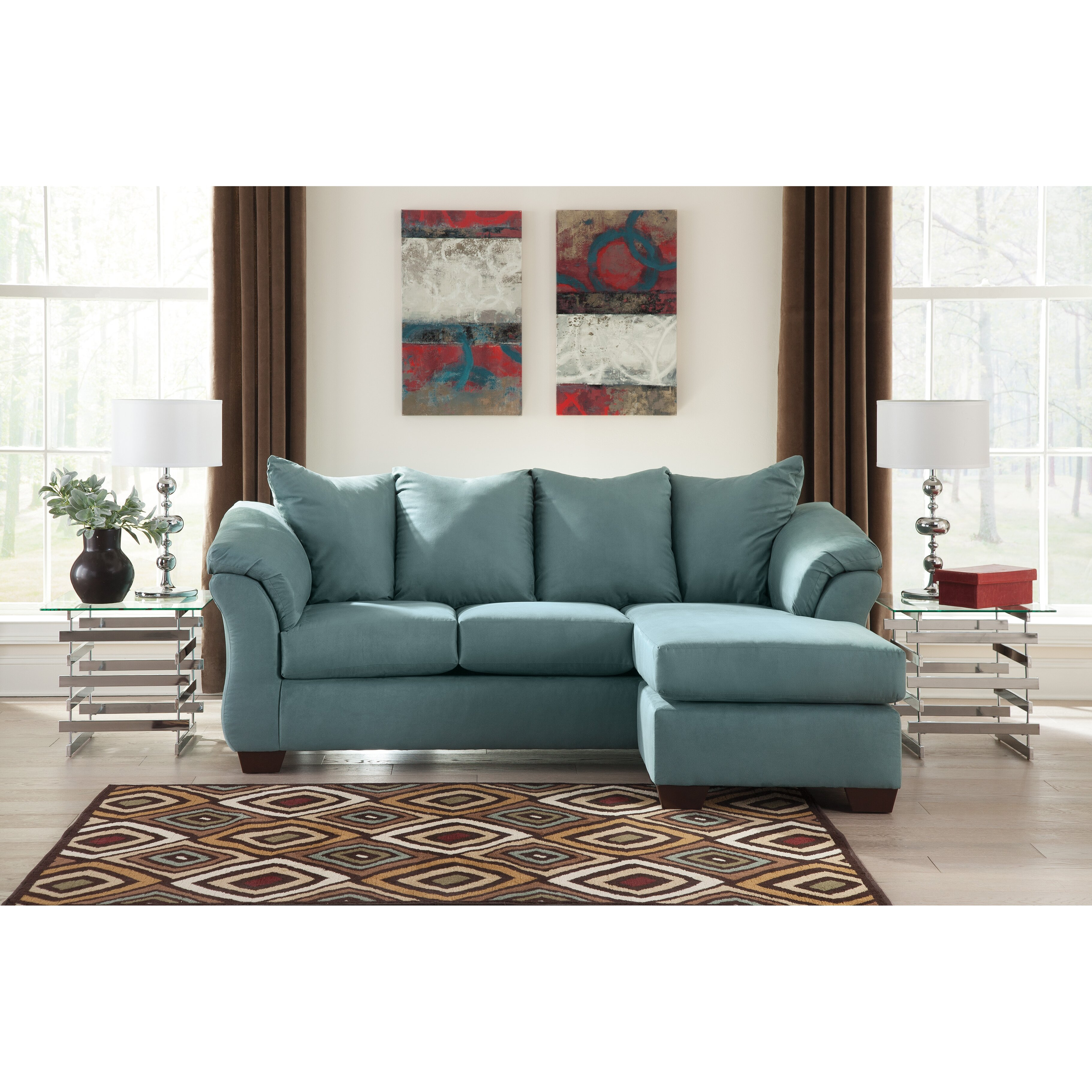 Sectional Sofas For Sale In Huntsville Al: Signature Design By Ashley Darcy Sectional & Reviews