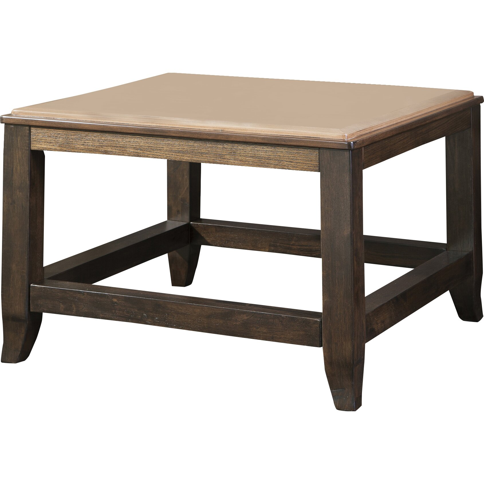 Signature Designs By Ashley Rollins Square End Table: Signature Design By Ashley Mandoro Coffee Table & Reviews