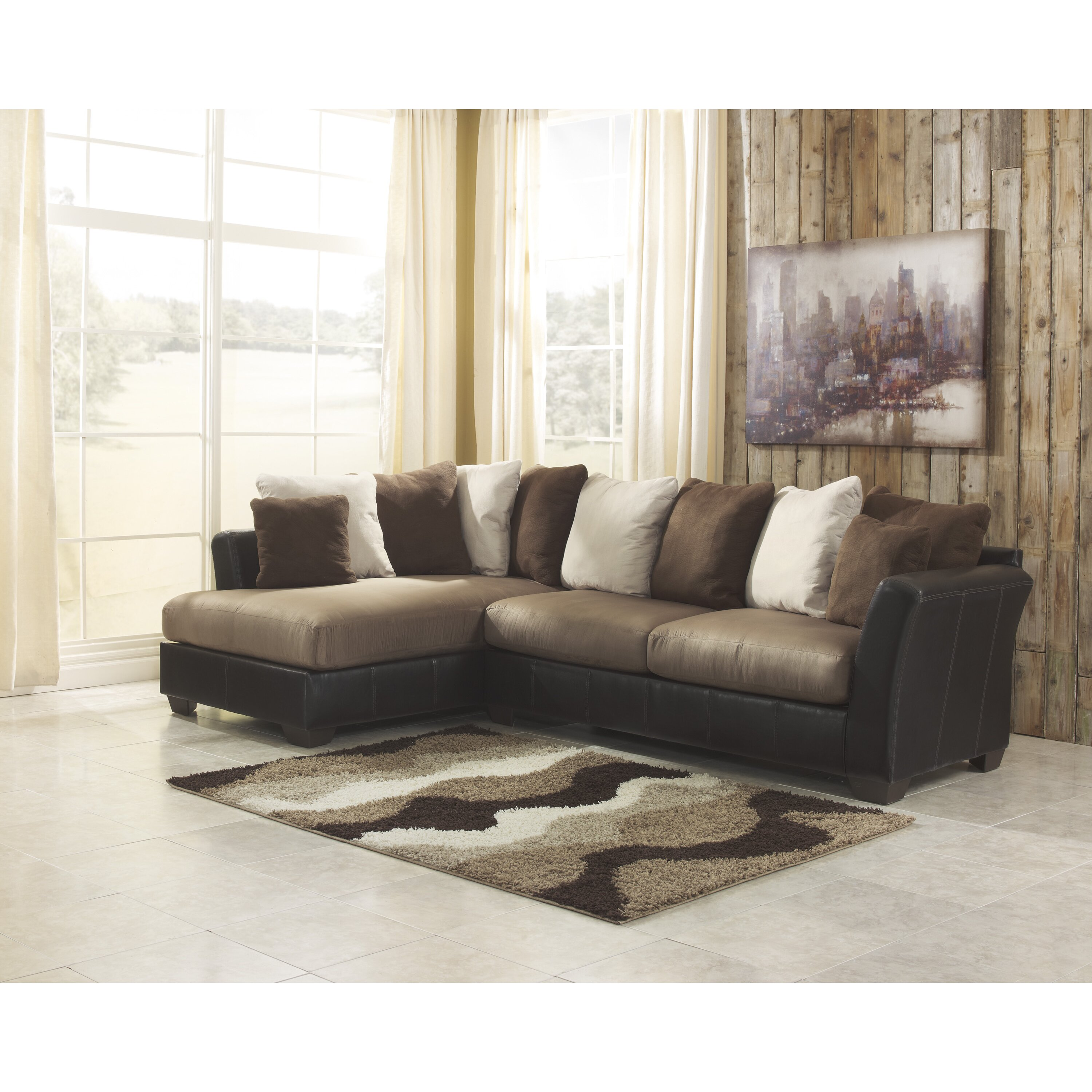 Ashley Furniture Sectionals: Signature Design By Ashley Larwill Sectional & Reviews